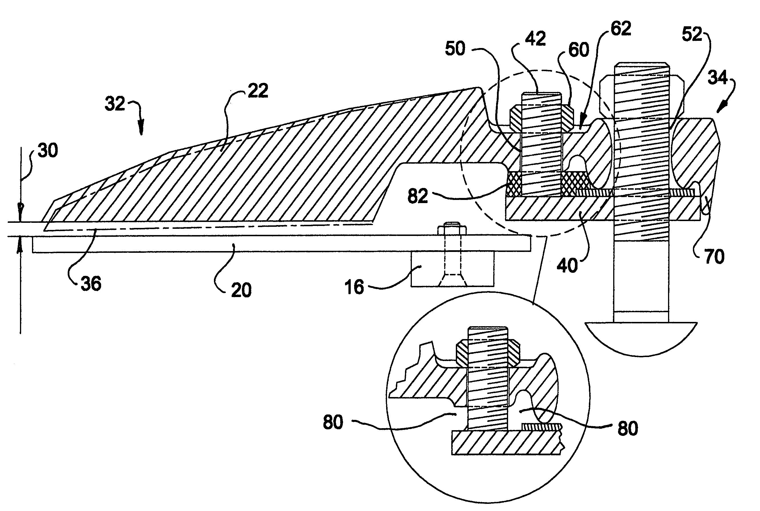 Patent US7275358 - Flexible trash guard for sickle bar mower