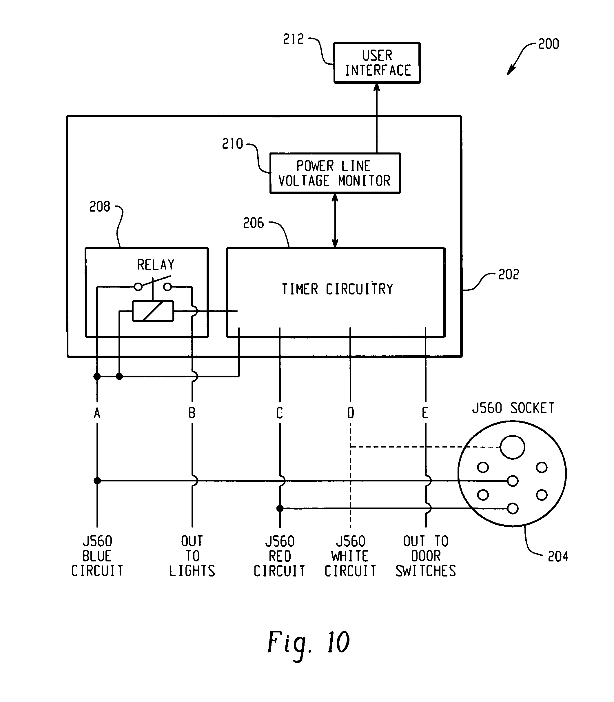 Patent US7286046  Systems and methods for supplying power to a vehicle    trailer     Google Patents