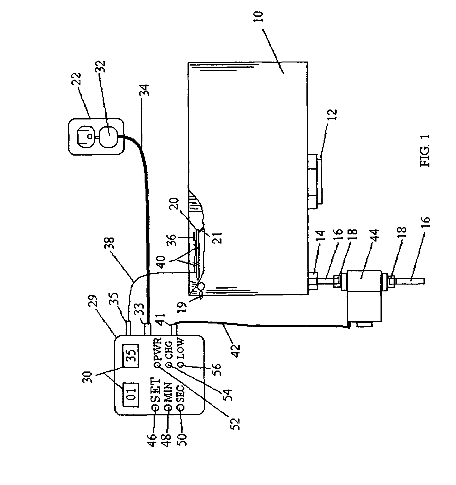 Patent Us7293583 Countdown Timer Automatic Water