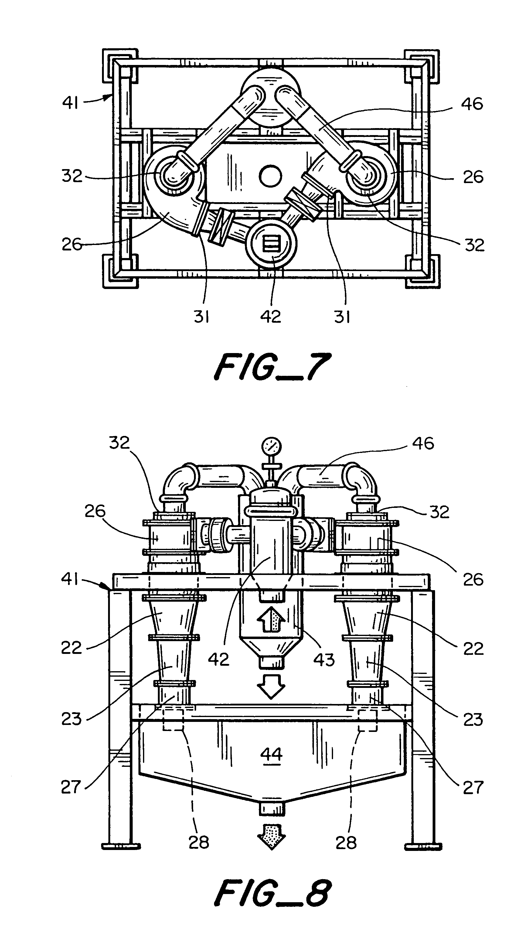 patent us7293657 hydrocyclone and method for liquid solid