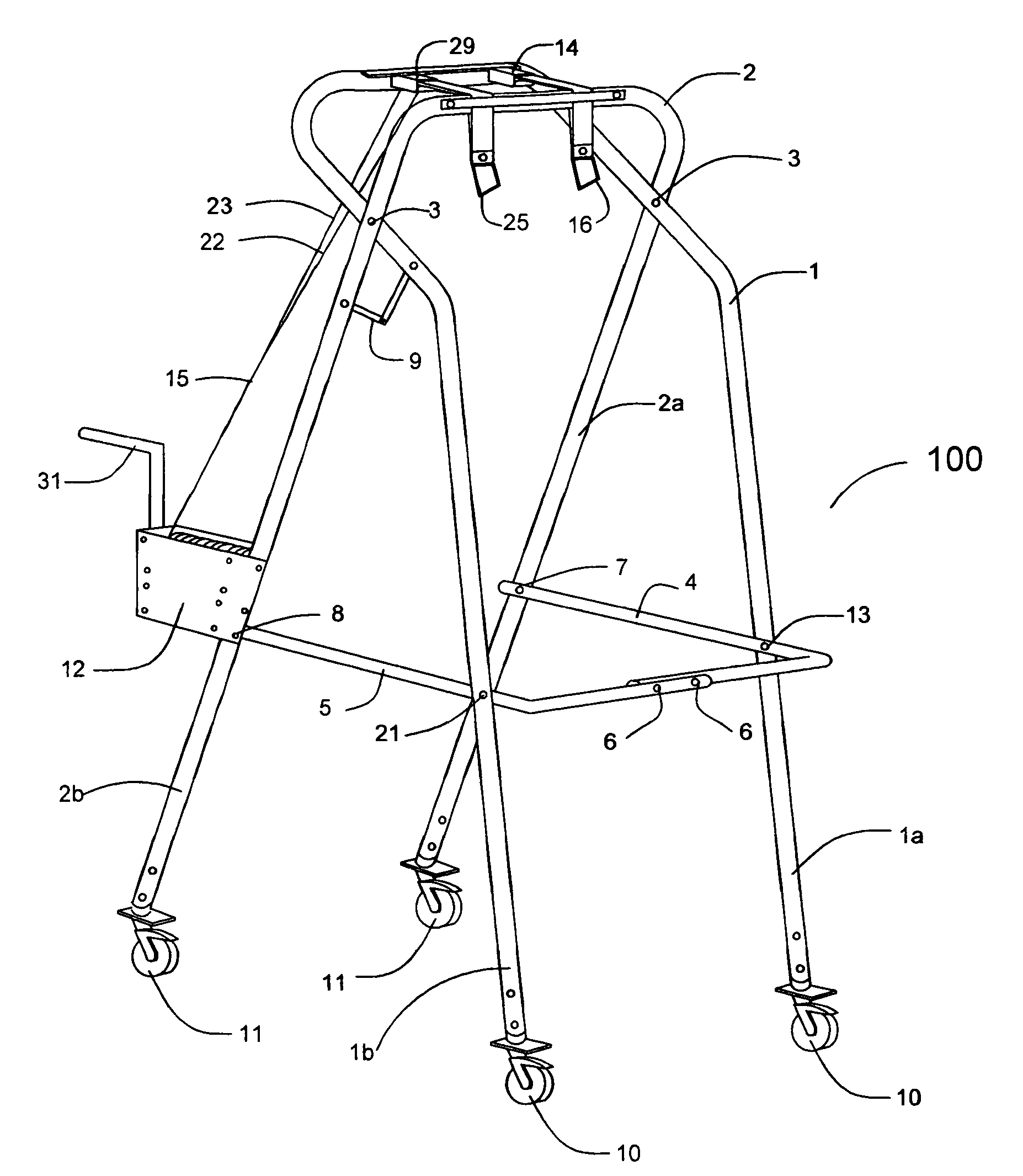 Patent Us7294094 Partial Weight Bearing Suspension
