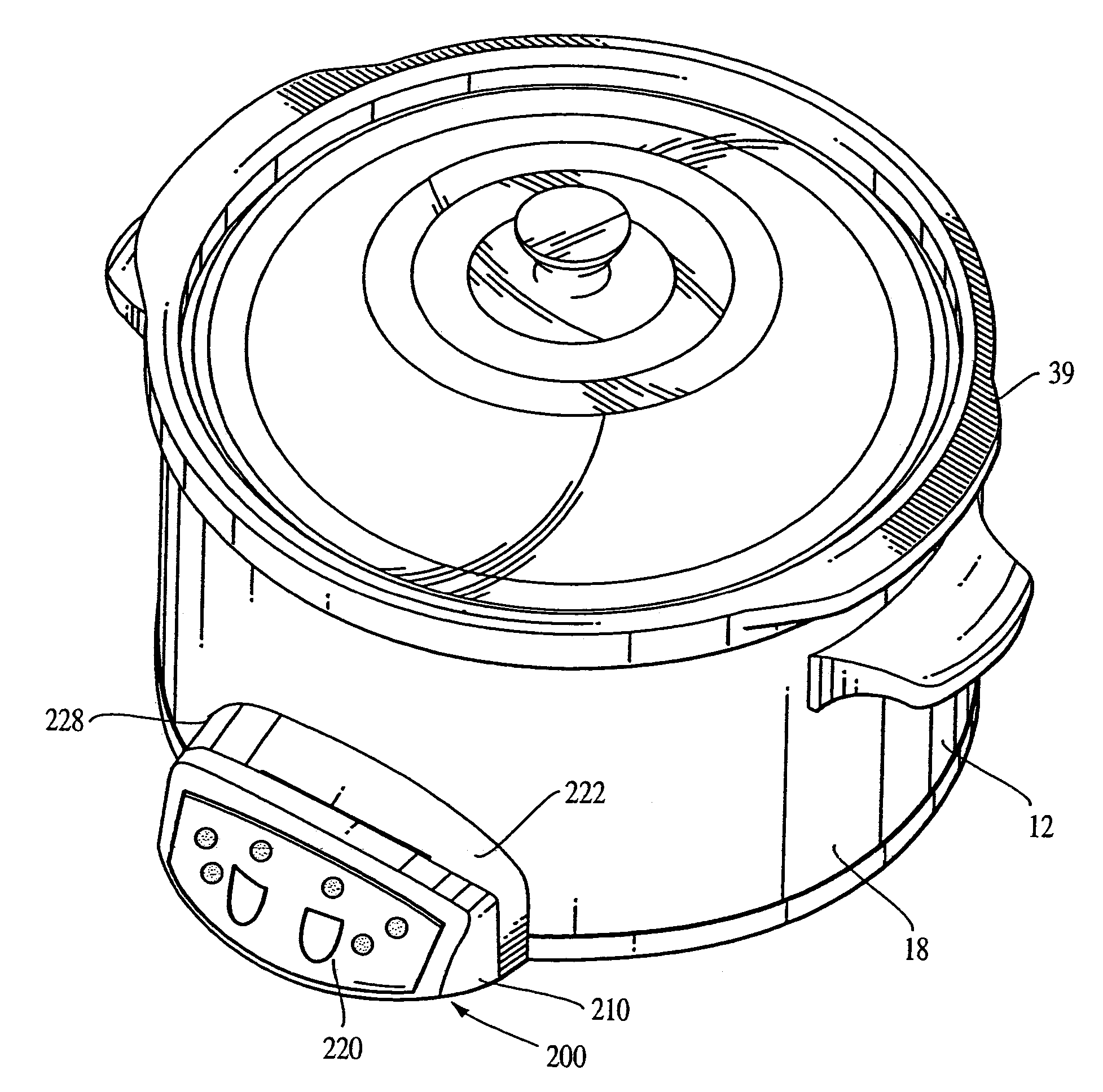 Patent Us7312425 Programmable Slow Cooker Appliance