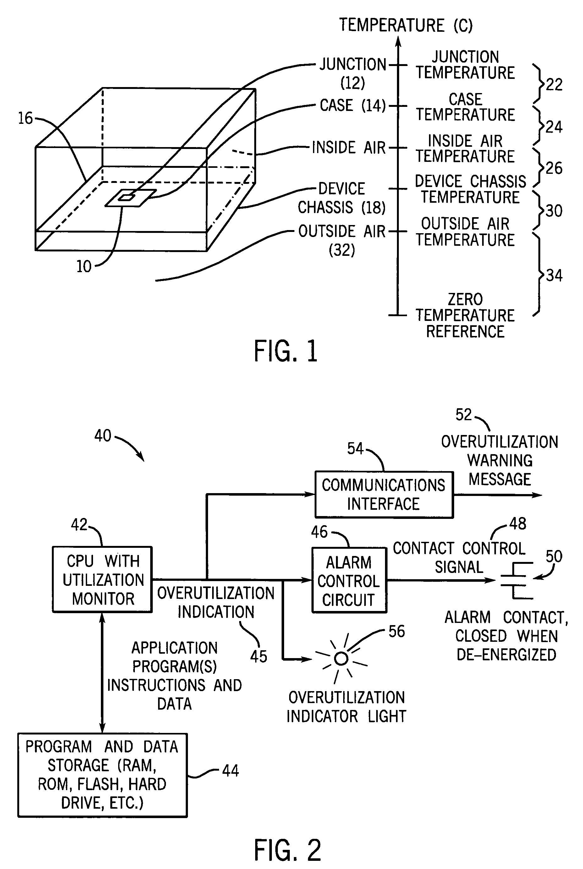 Patent Us7313500 Method To Increase The Maximum Allowable Ambient Temperature Indicator Circuit Drawing