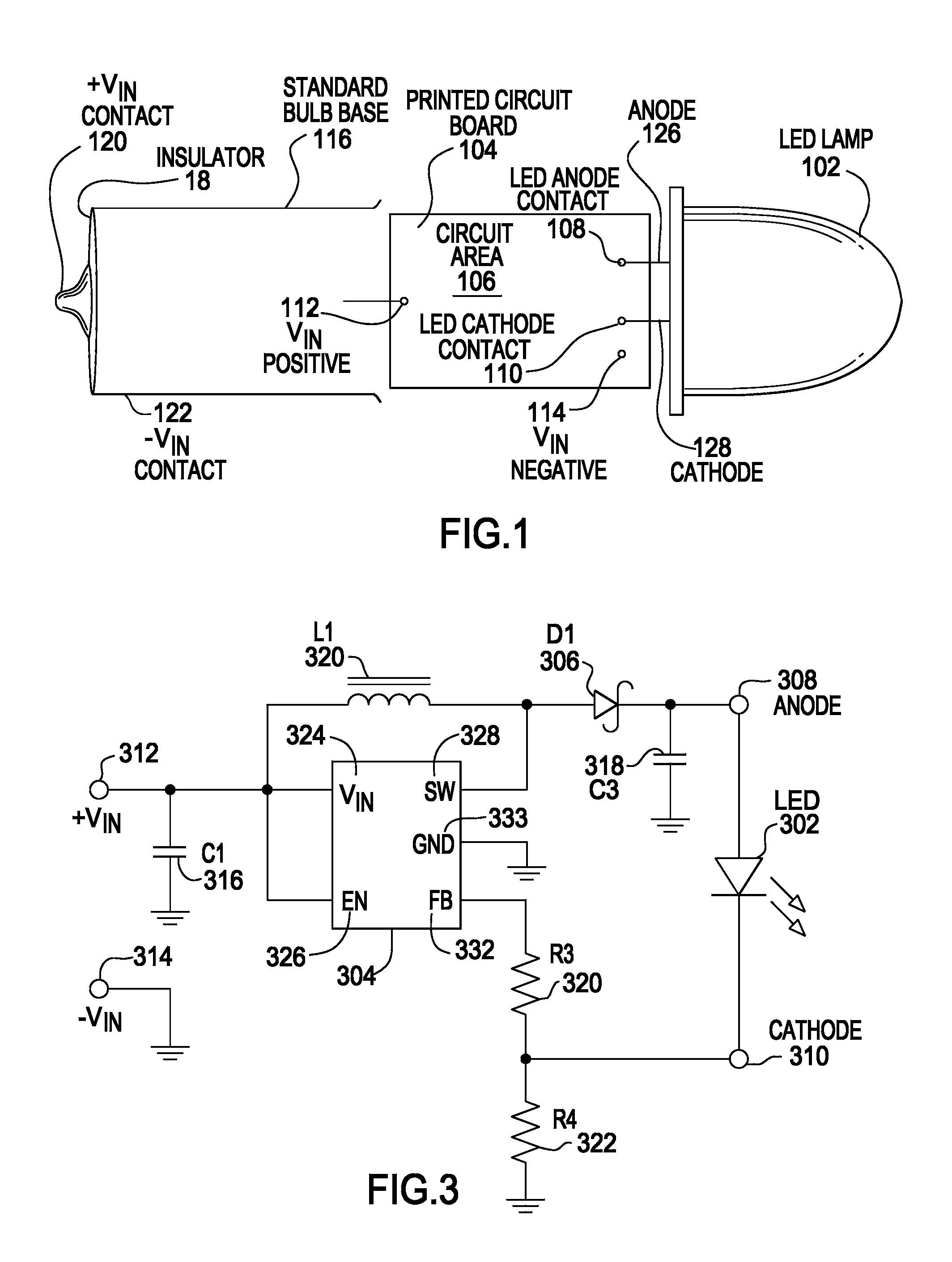Patent Us7318661 Universal Light Emitting Illumination Device And Images Tps61040 Boost Converter Schematic Drawing