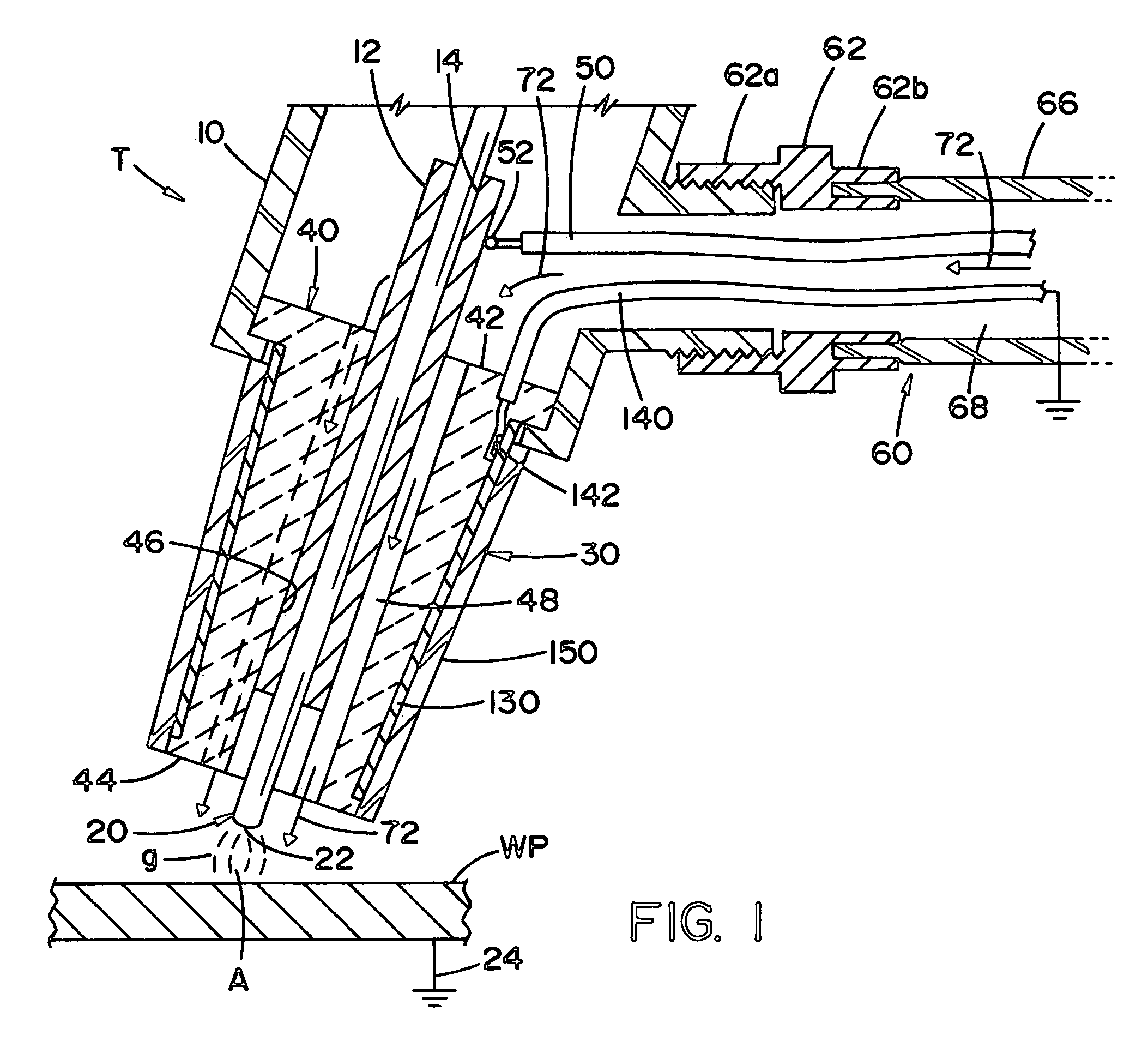Patent Us7321106 Tig Welding Torch Google Patents