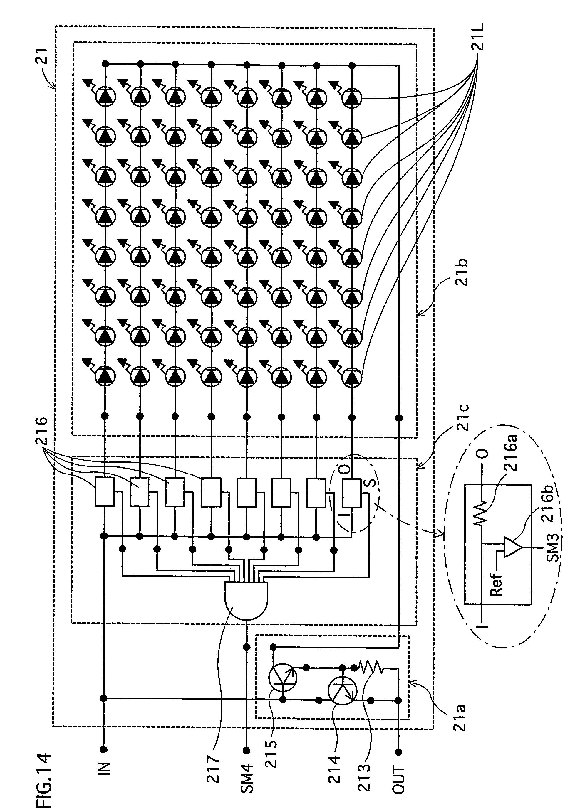 patent us7322718 - multichip led lighting device