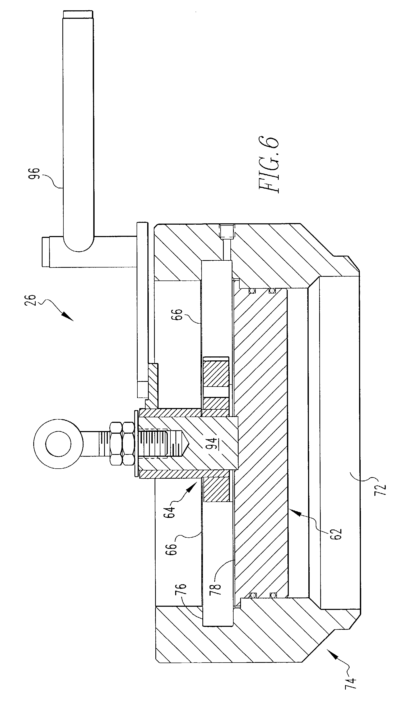 patent us7332010 - high pressure filter  separator and locking mechanism