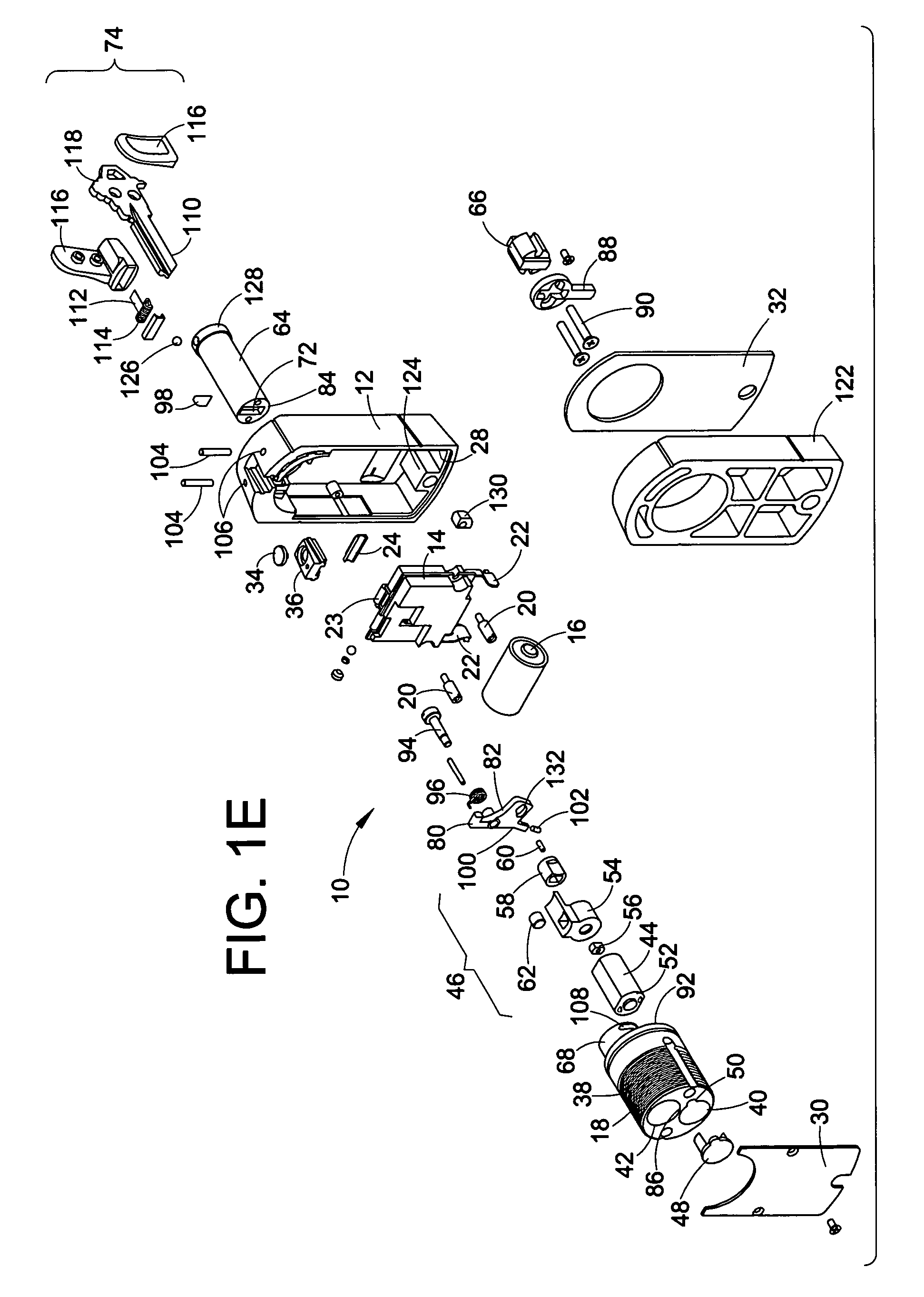 patent us7334443 - radio frequency electronic lock