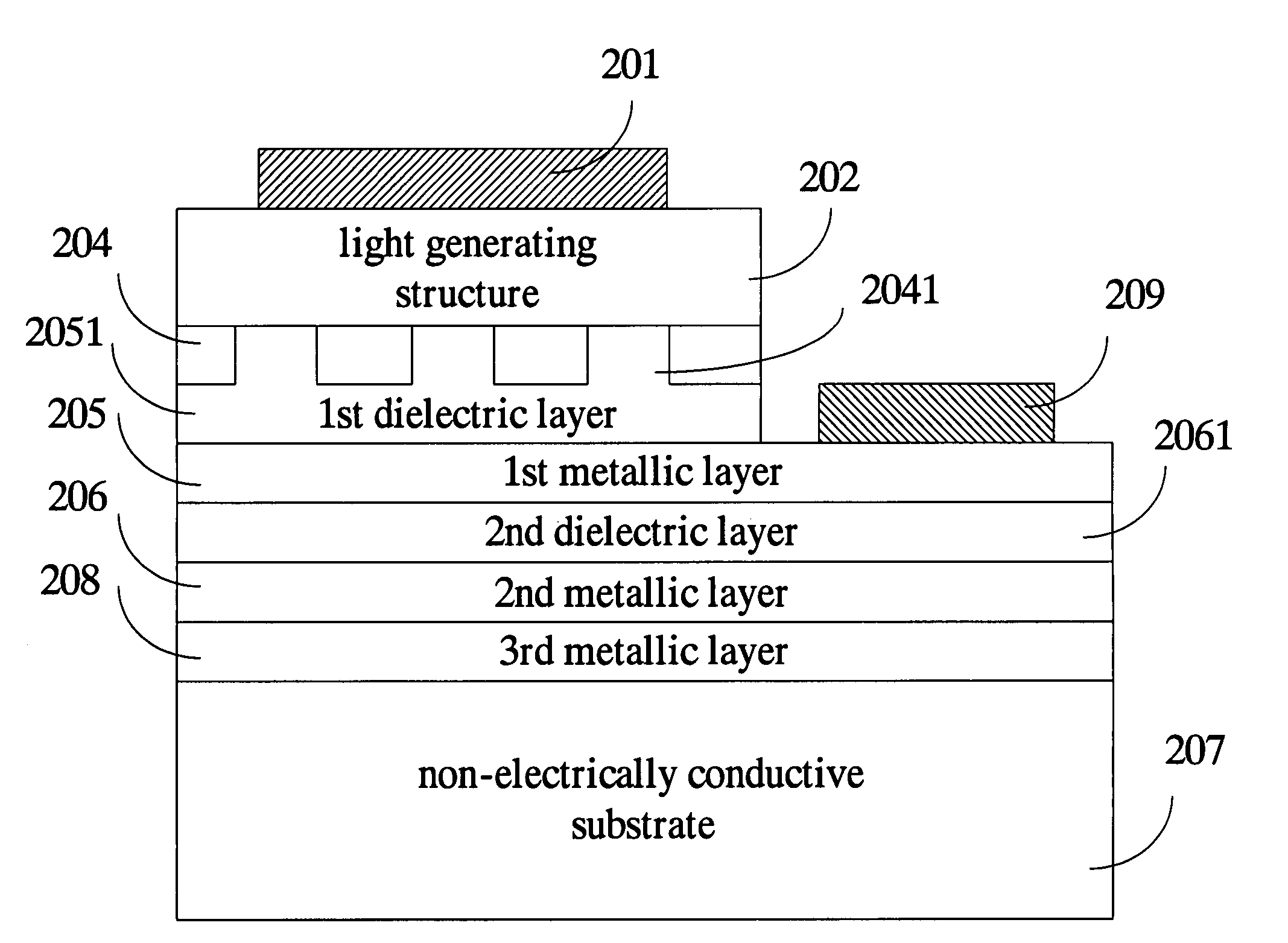 Patent Us7335924 High Brightness Light Emitting Diode Having Diagram Drawing
