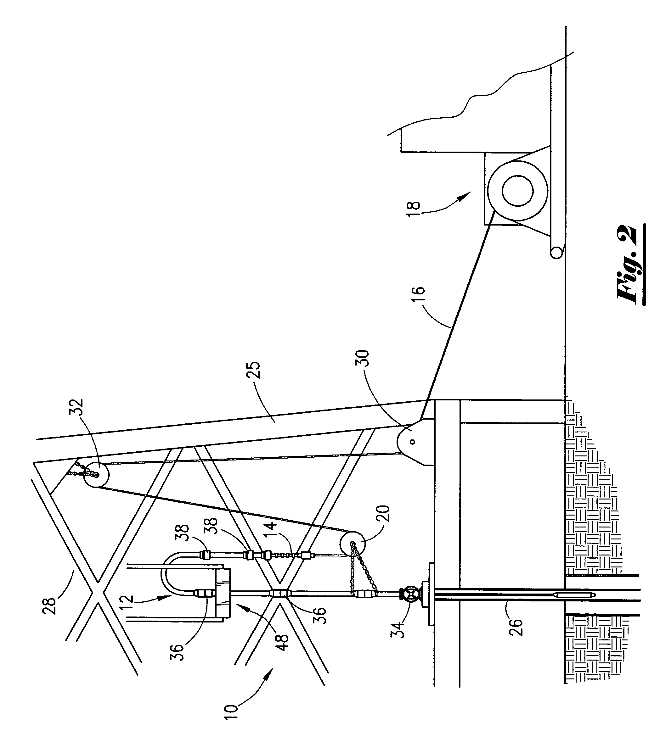 Line Drawing Method : Patent us enclosed radial wire line cable