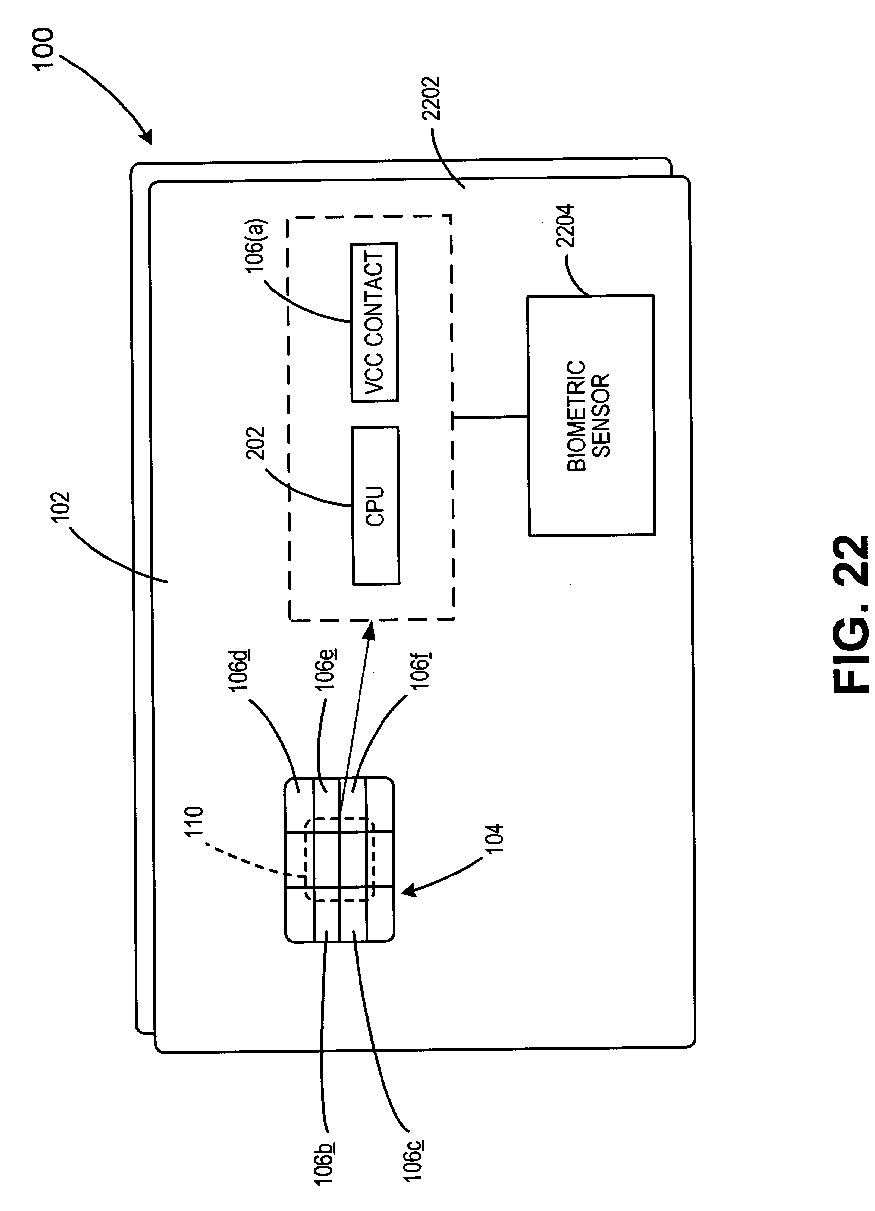 Patent Us7341181 Method For Biometric Security Using A Smartcard Trailer Wiring Diagram Rsa Drawing