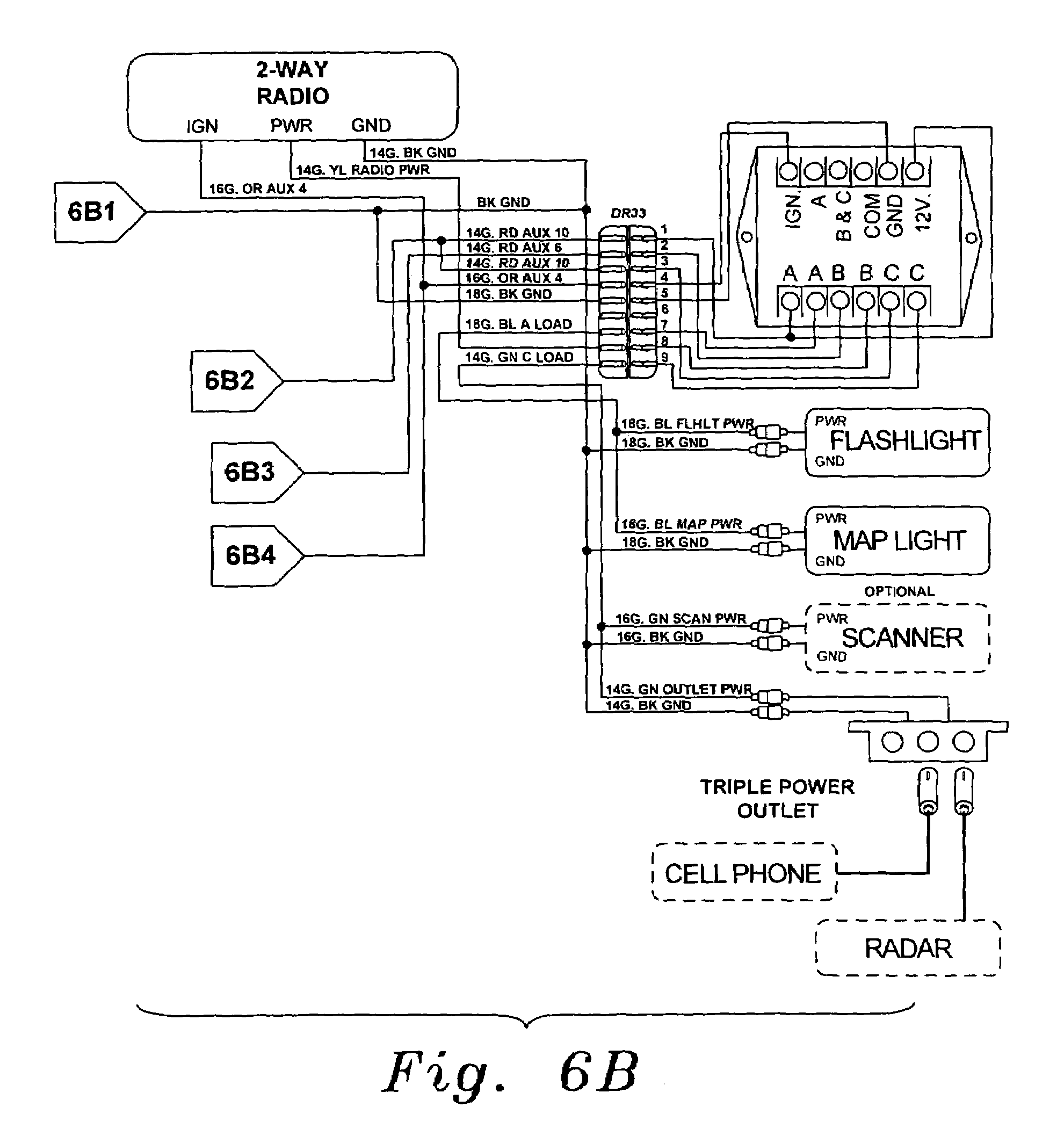 patent us7342325 universal fleet electrical system patents