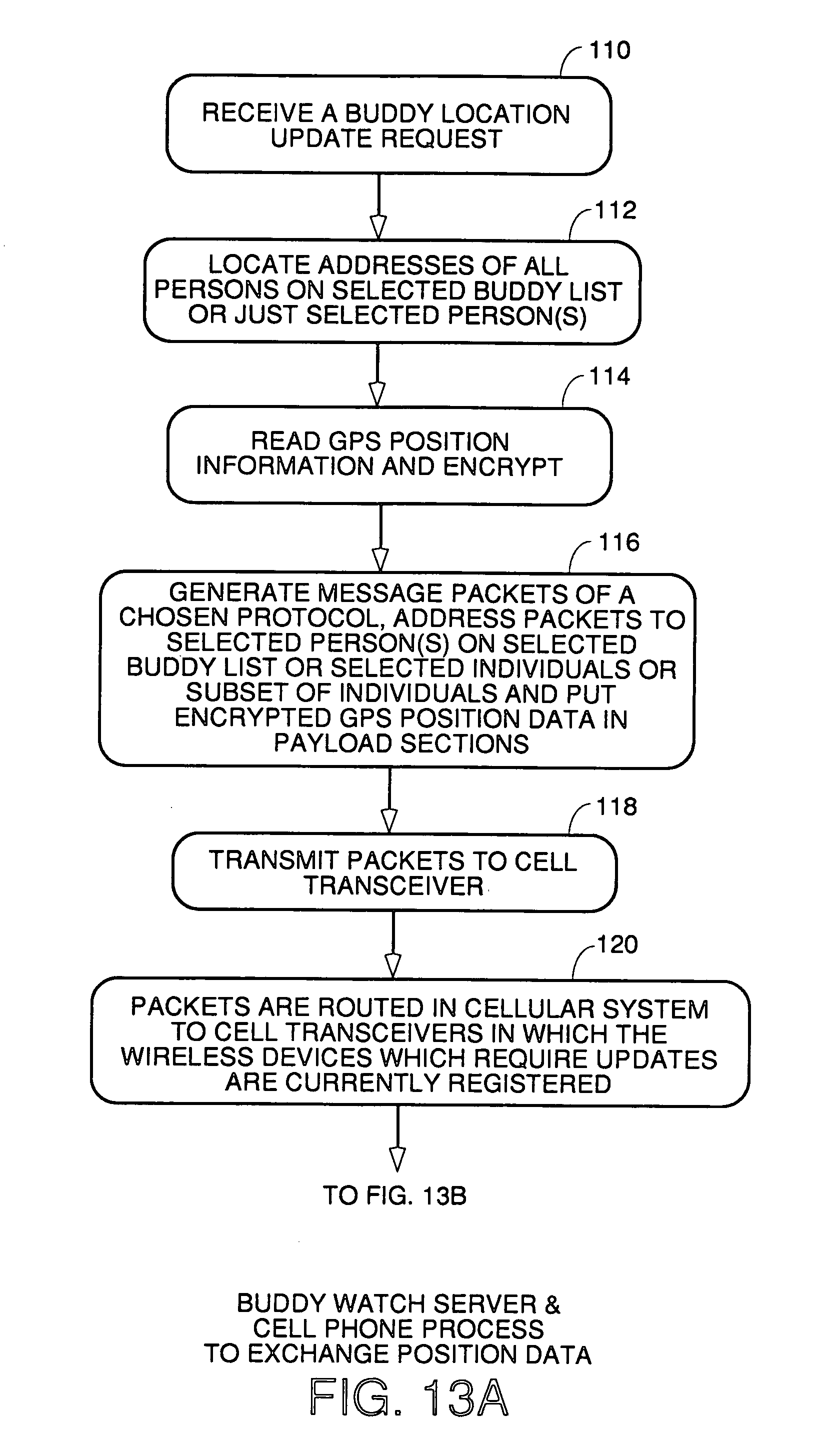 us7353034b2 location sharing and tracking using mobile phones or