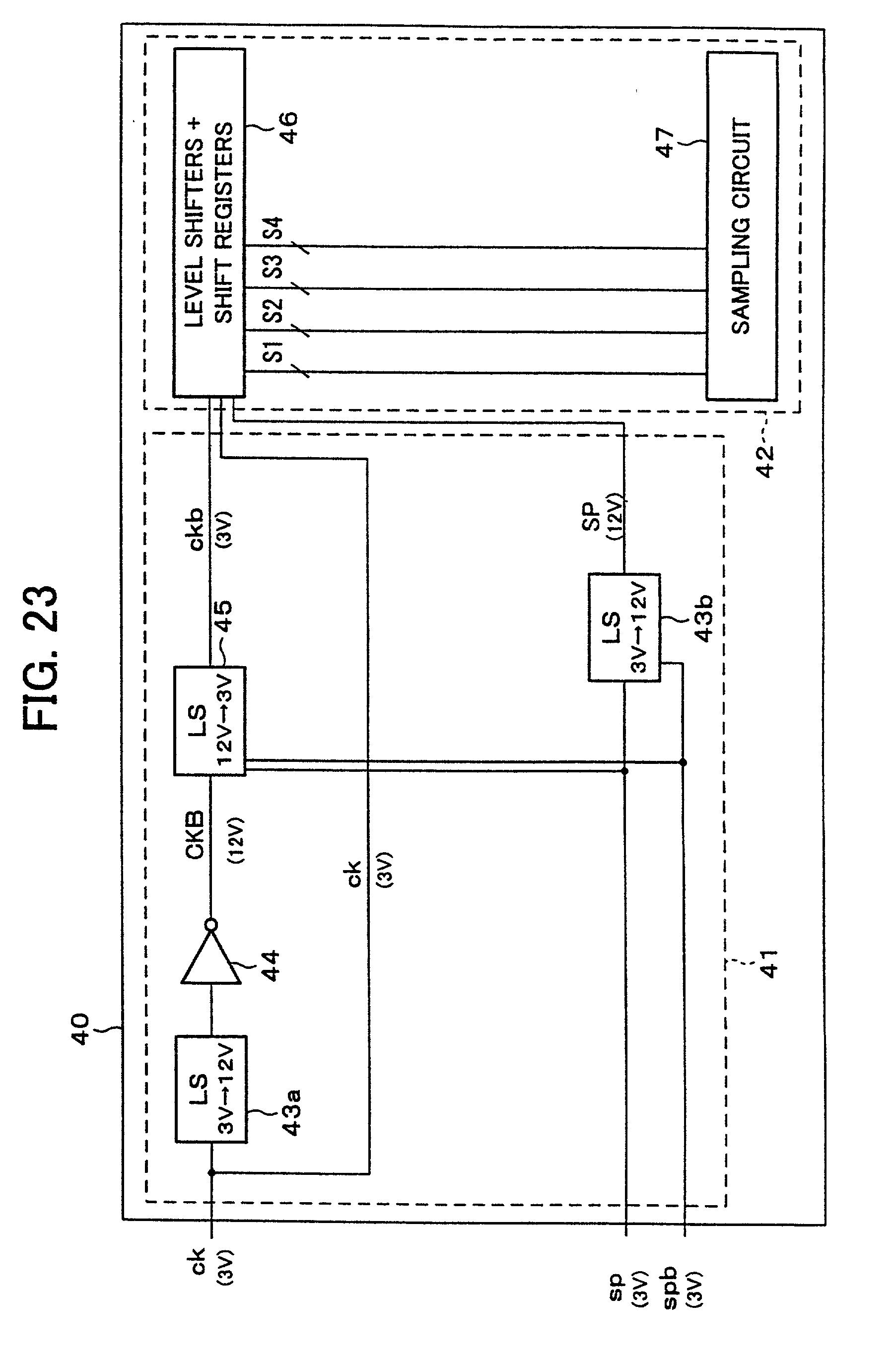 Low Voltage Signal Generator : Patent us signal processing circuit low voltage