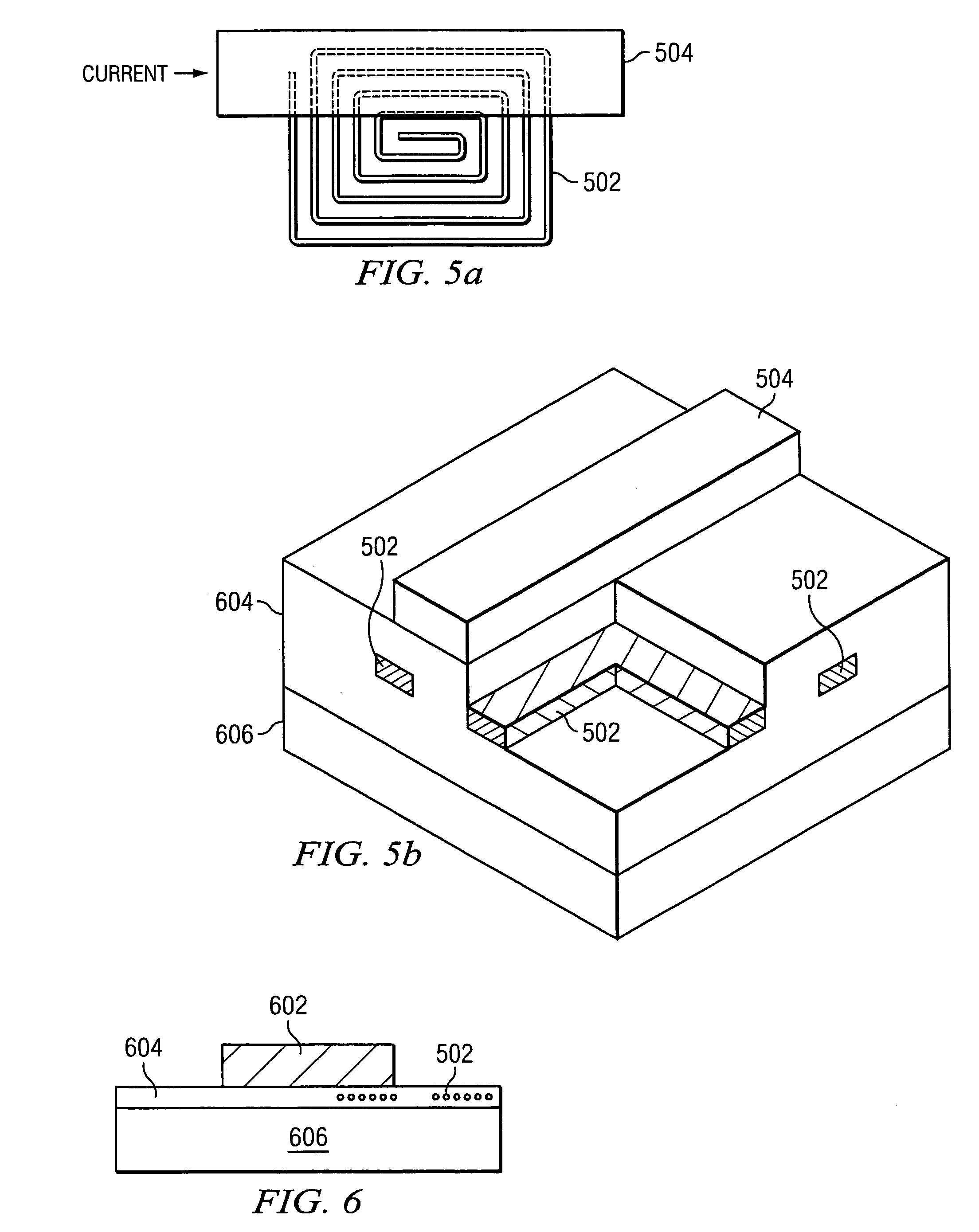 patent us7362086 - integrated current sensor