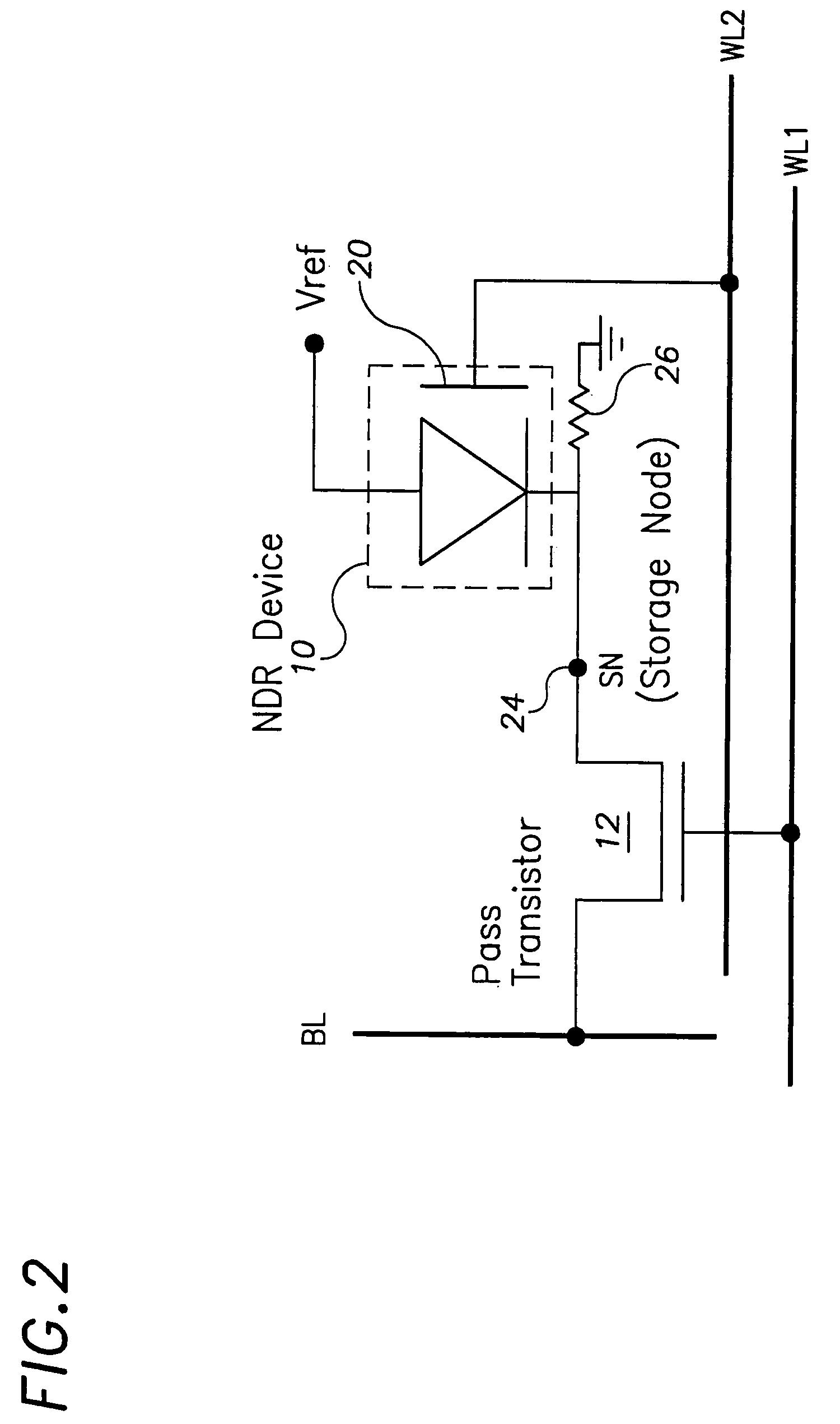 brevet us7365373 - thyristor-type memory device
