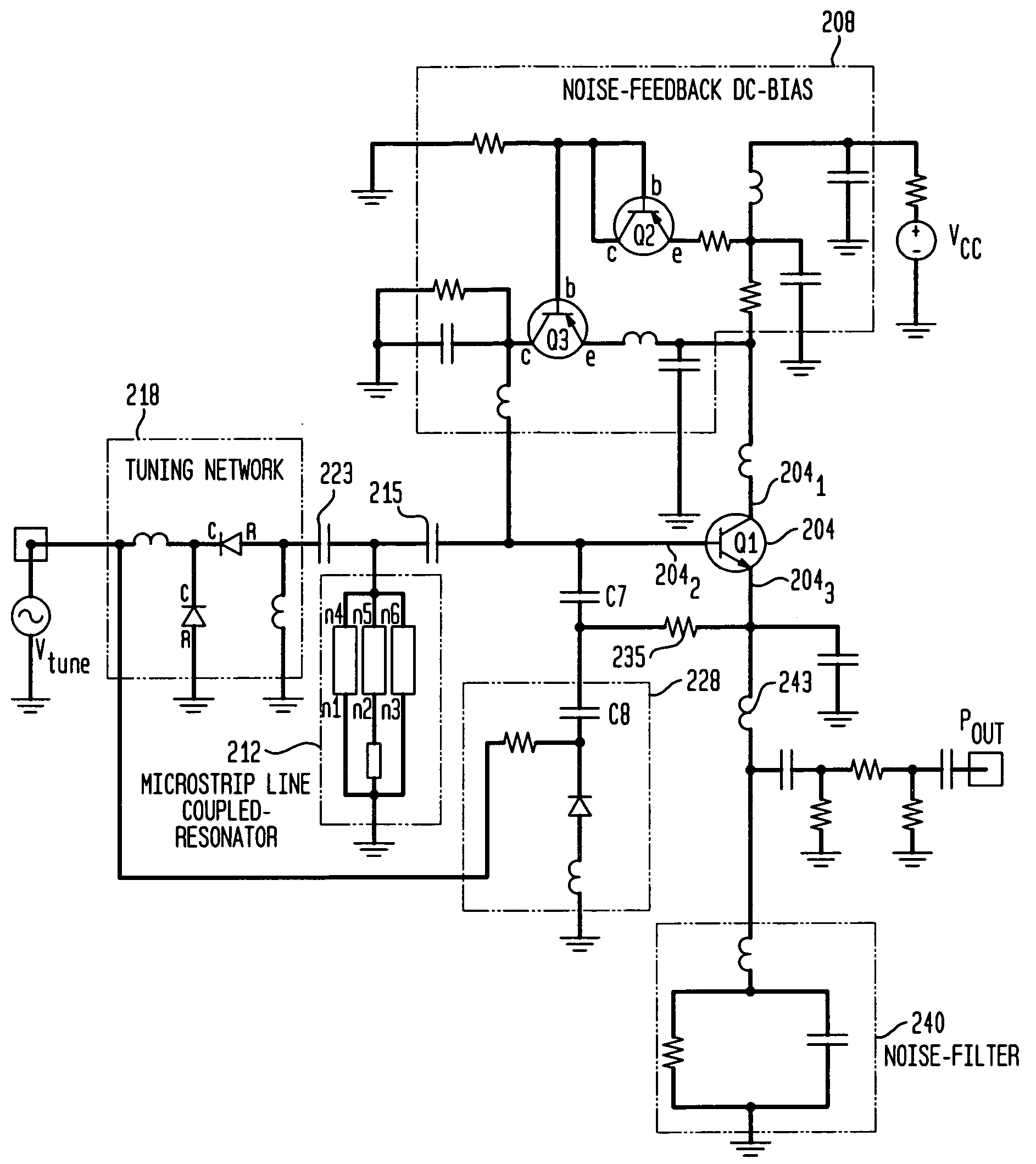 Patent Us7365612 Low Noise Hybrid Tuned Wideband Voltage Controlled Source With Nchan Mosfet Schematic Drawing