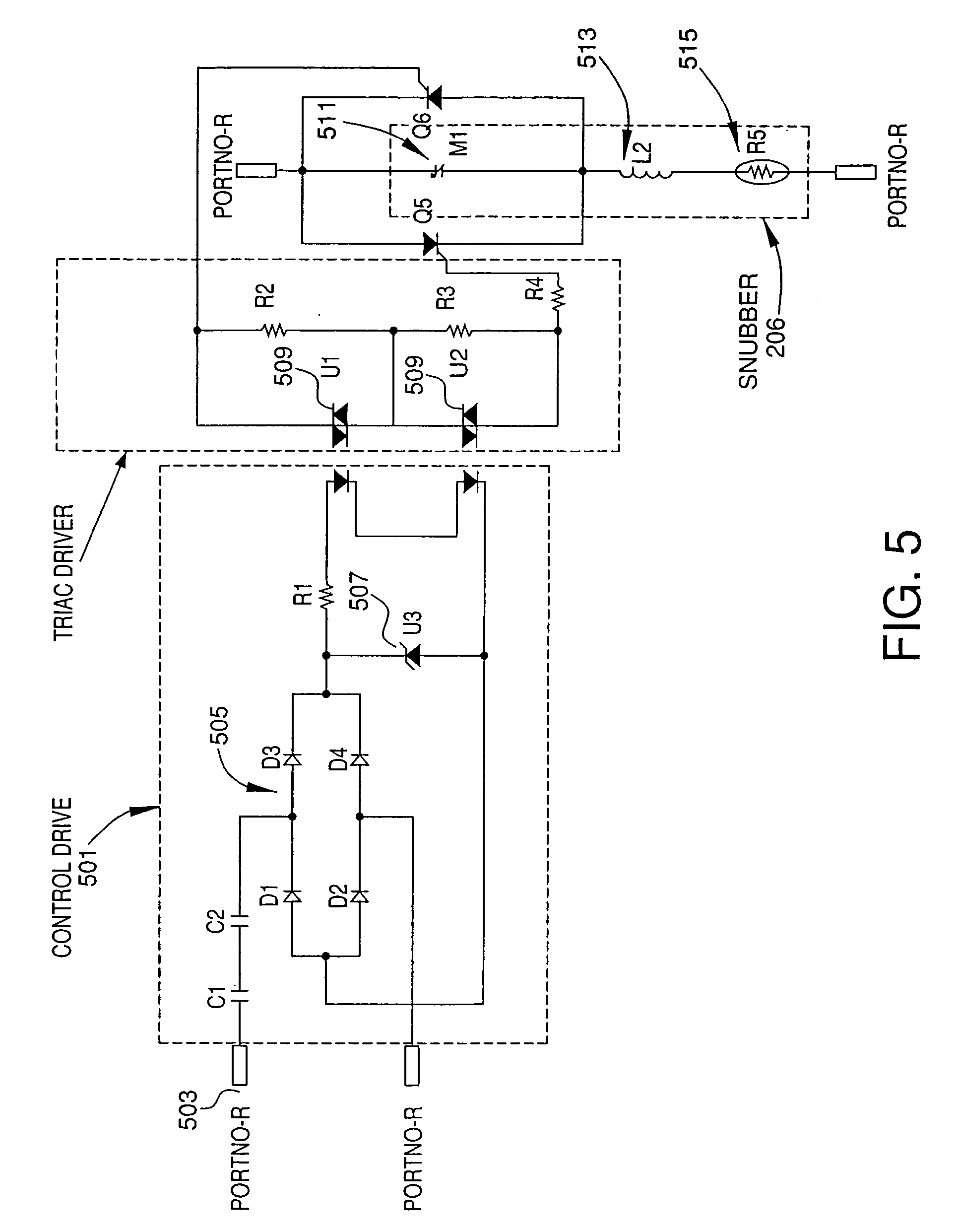 Patente Us7368882 Self Contained Snubbed Hid Dimming Module Snubbercircuitscr Patent Drawing