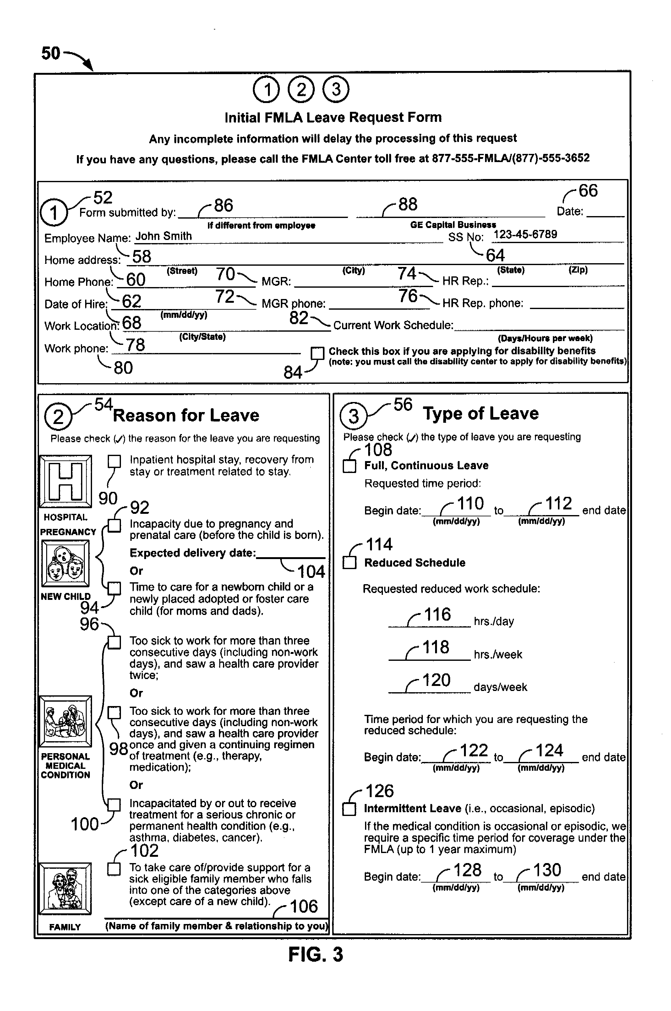 fmla papers Internal use only disabiilty fmal & paid leave questonnaire form -last updated 5/18/09 ejr disability, fmla & paid family leave questionnaire.