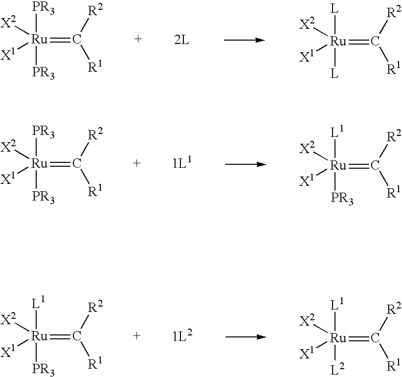 ruthenium metathesis catalysts A, general schematic for the rcm reaction b, structures of the grubbs  metathesis catalysts and the phosphonium alkylidene catalyst based on.
