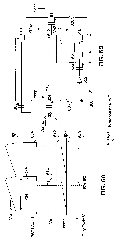 patent us7378822 - switching regulator slope compensation generator circuit