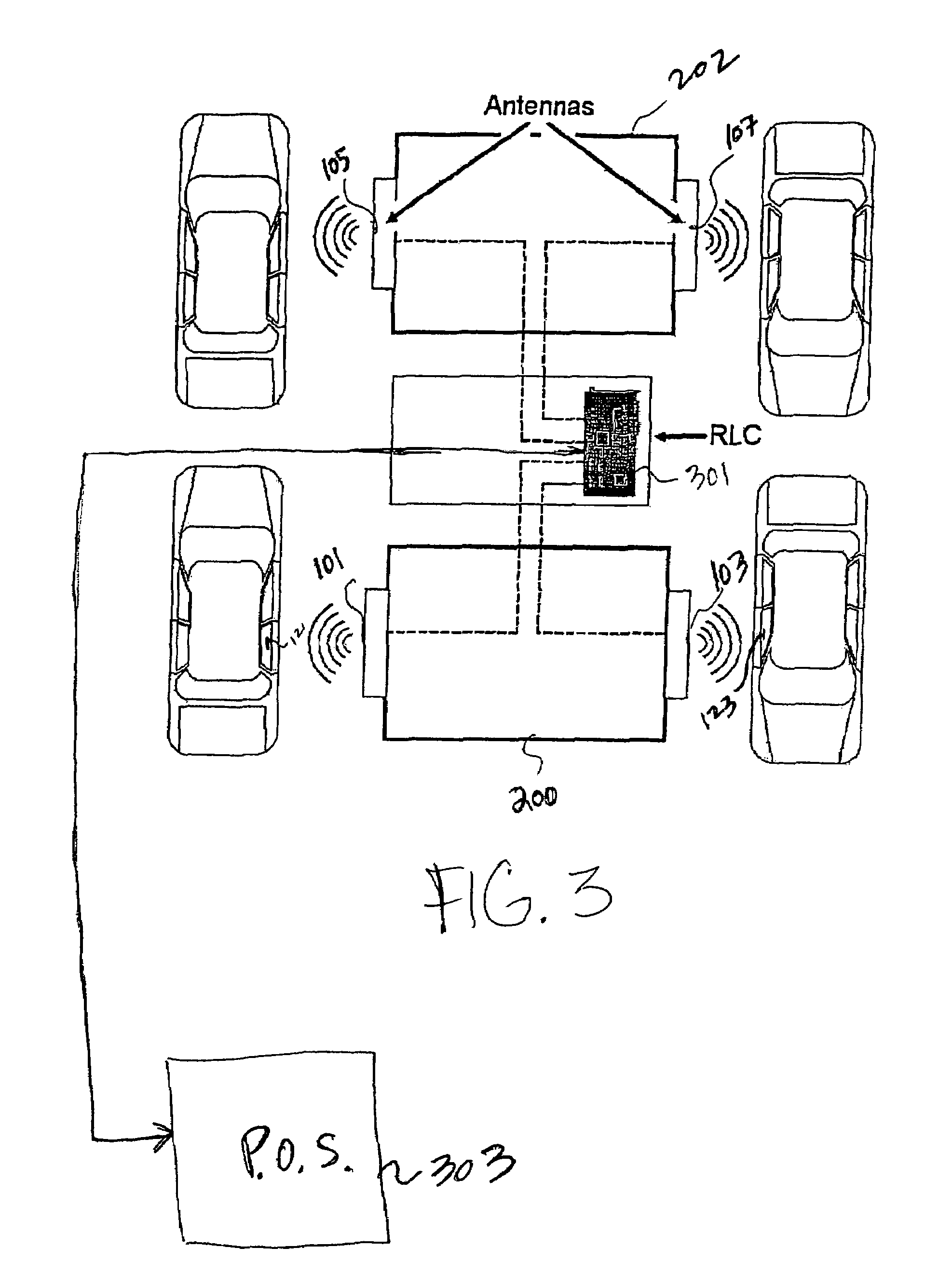 Us7379897 Automatic Payment System Using Rf Id Tags Computerpowered Rs232 Circuit Diagram Tradeoficcom Patent Drawing