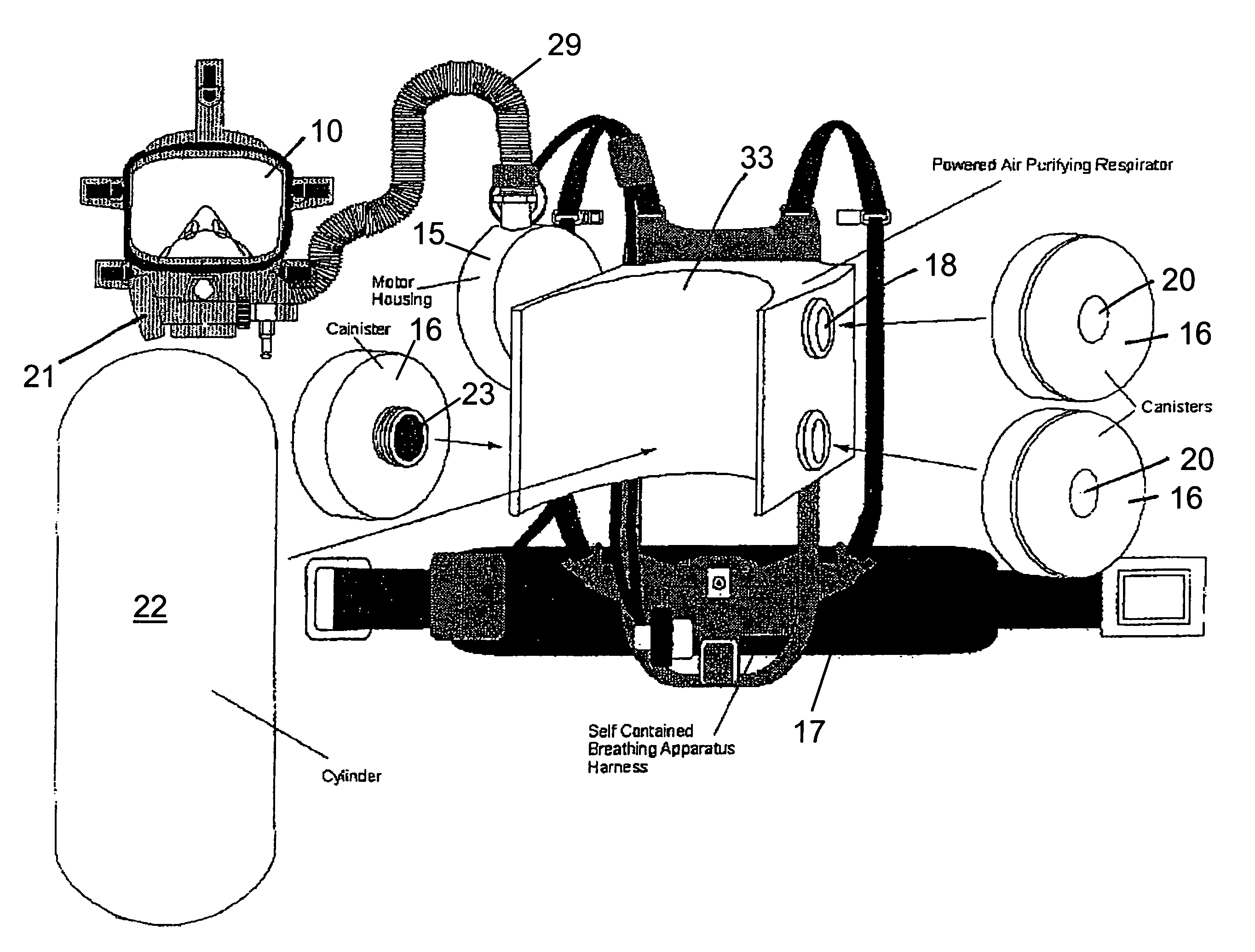 Patent Us7380551 - Breathing Apparatus
