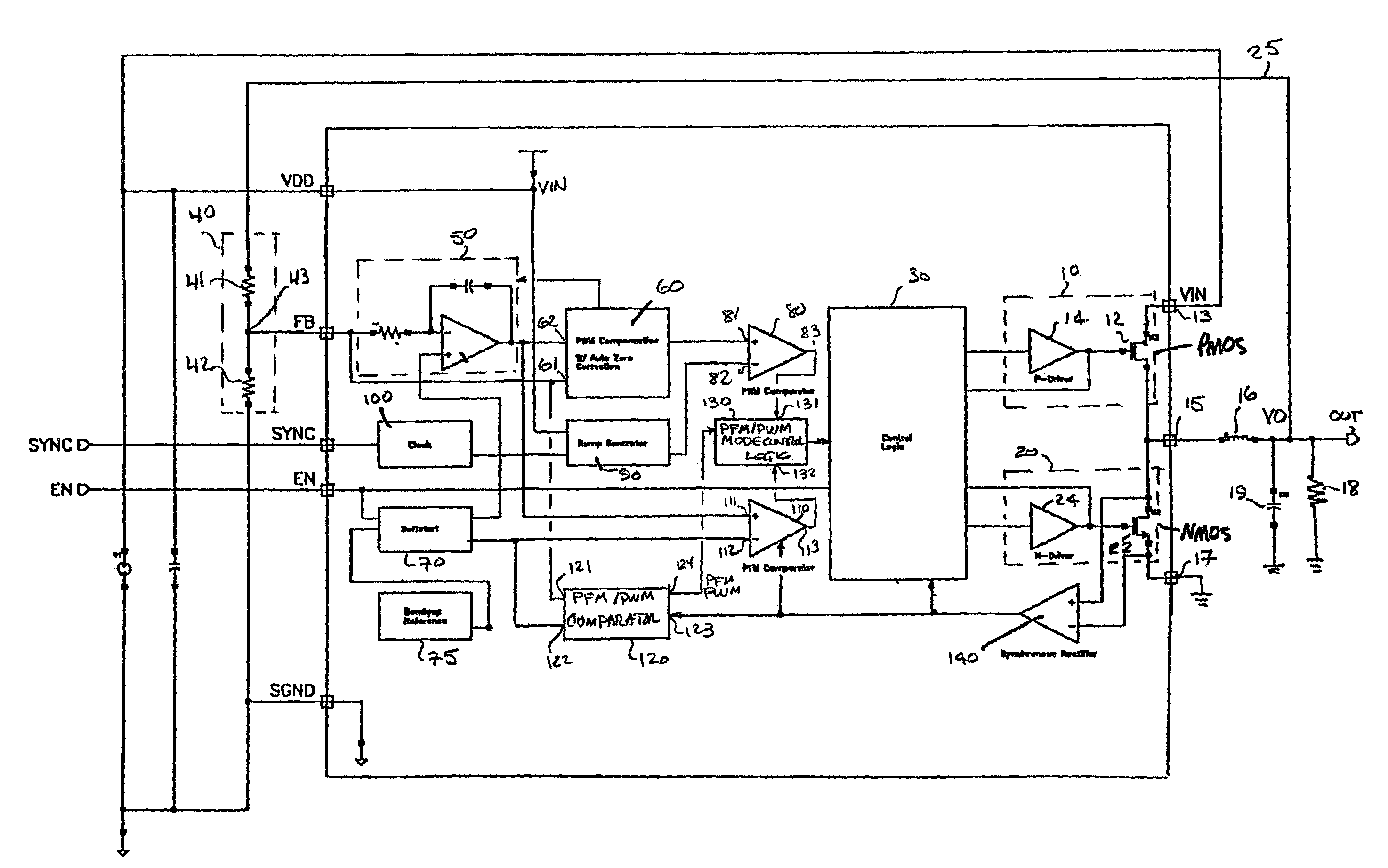 Patent Us7382114 Pfm Pwm Dc Converter Providing Offset In A Transimpedance Amplifier The Opamp Continuously Compares Its Drawing