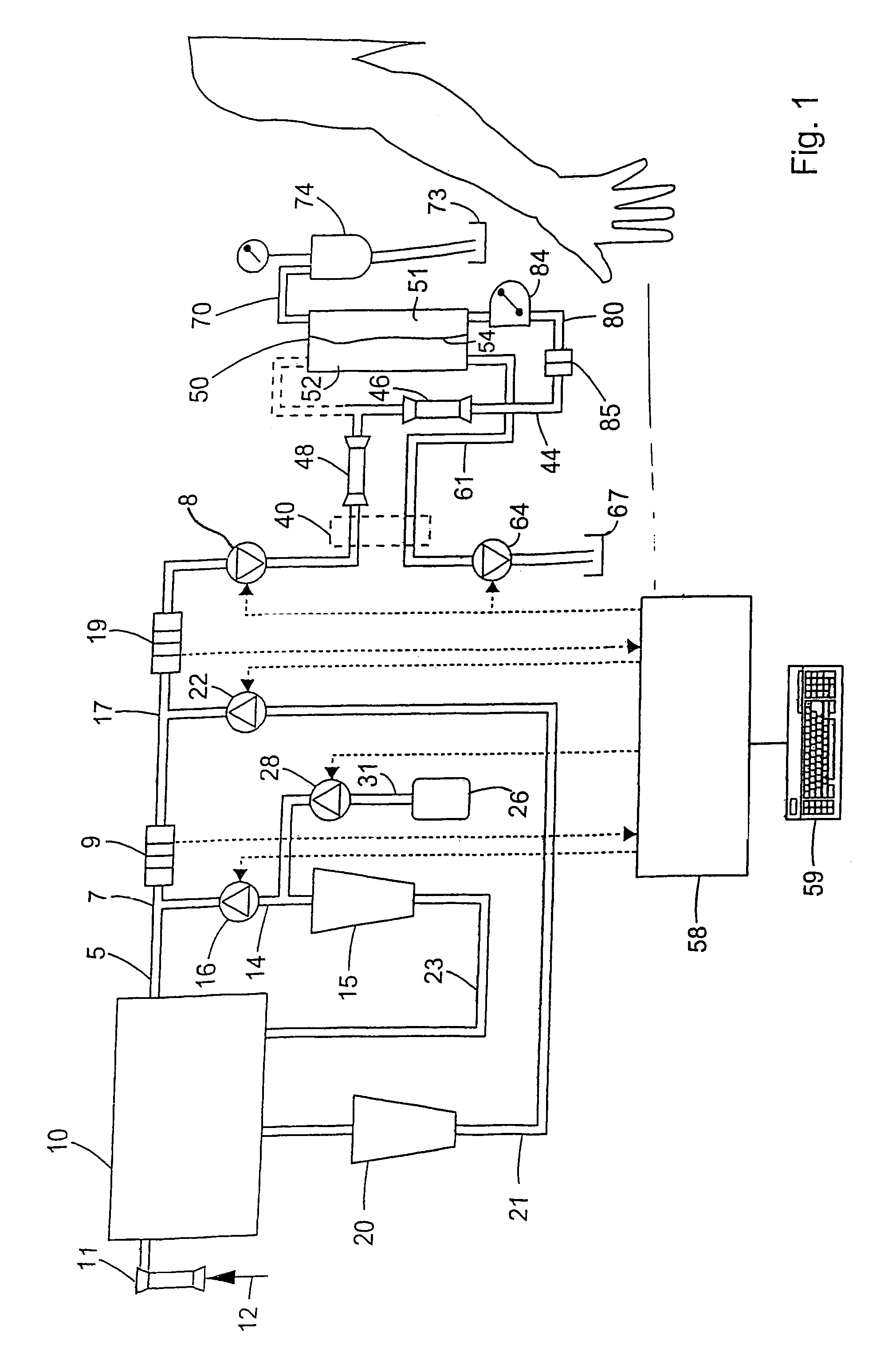 patent us7387734 - method of operating a dialysis machine