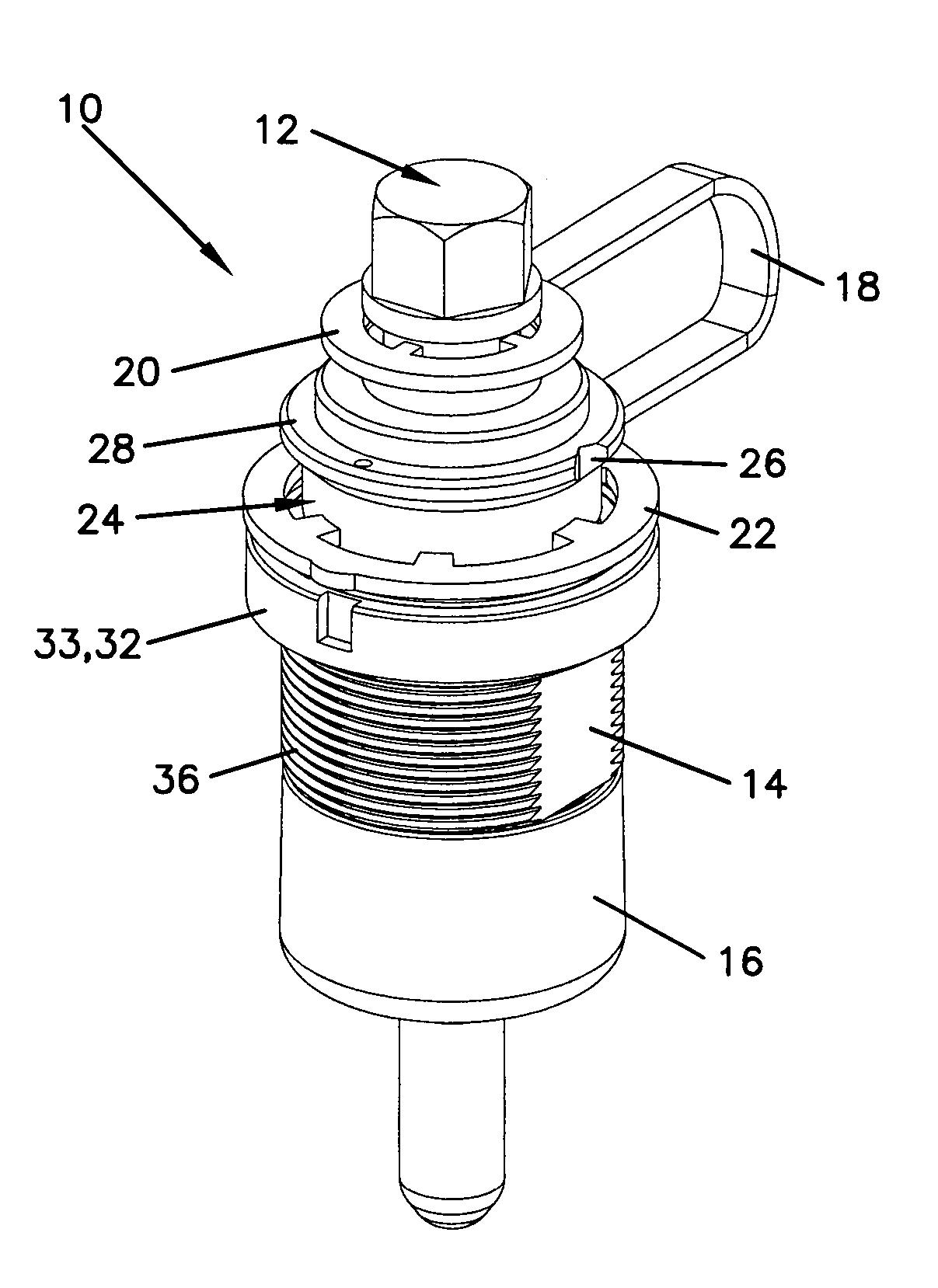 Patent Us7394964 Dust Plug For Hardened Fiber Optic