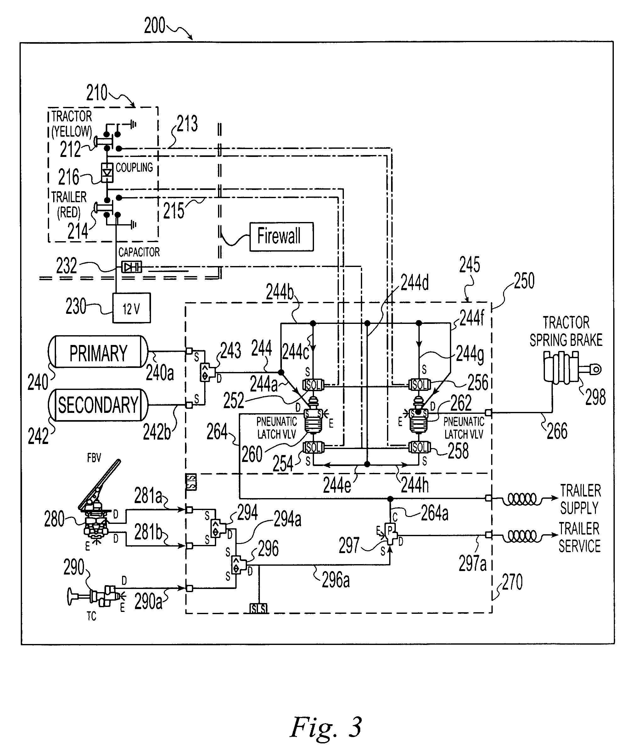 patent us7396089 electro pneumatic latching valve system patents