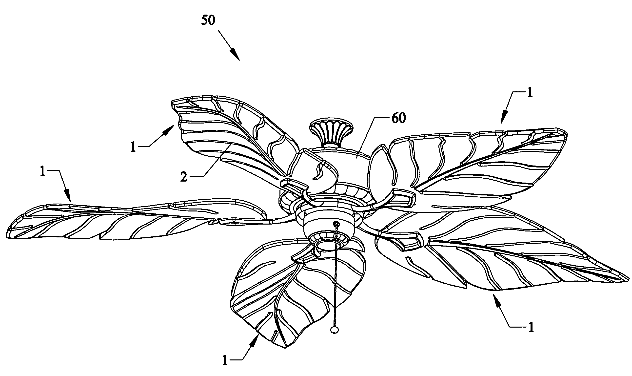 Patent Us7396212 High Efficiency Twisted Leaf Blade
