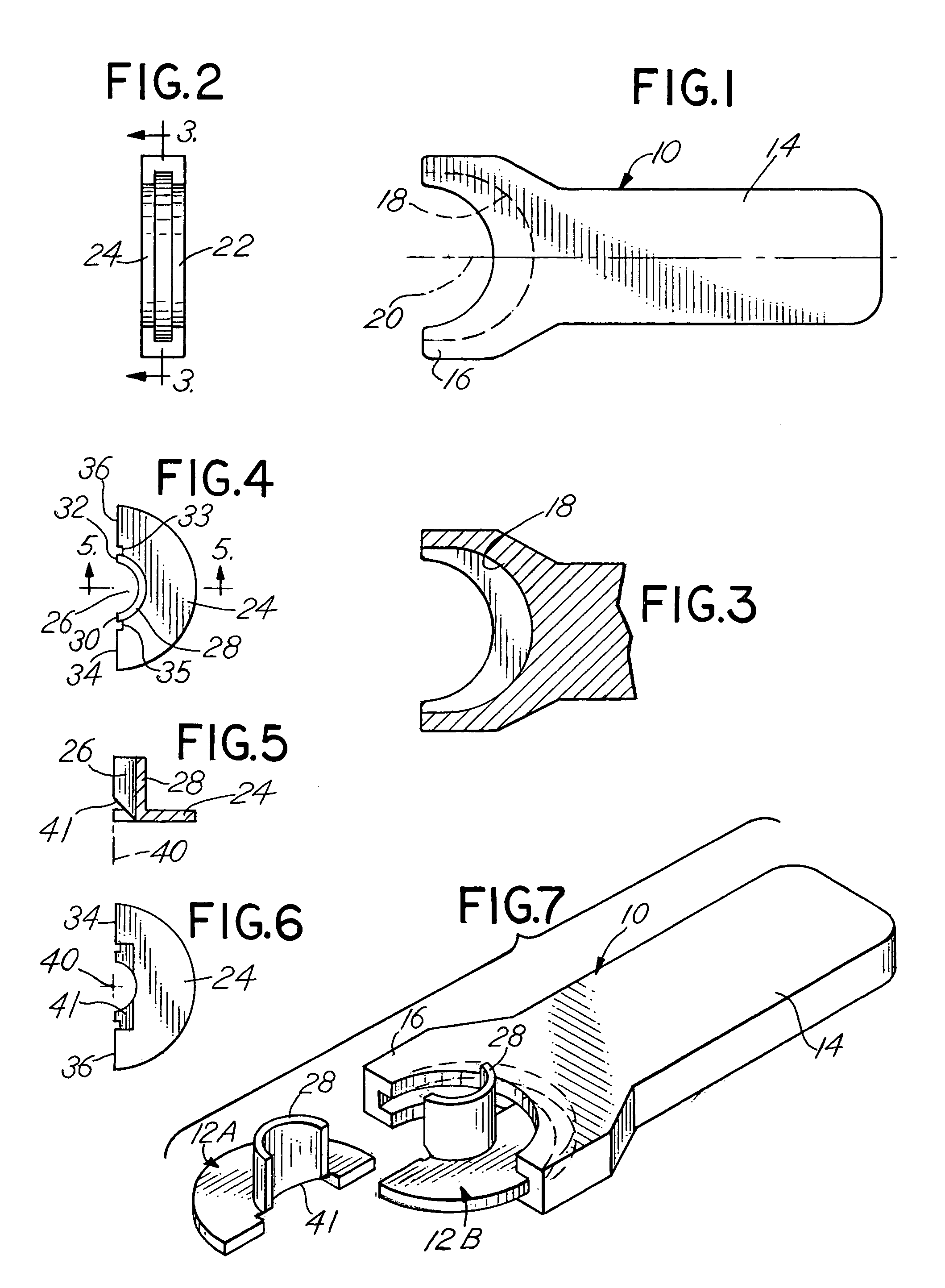 patent us7404245 - fuel line disconnect tool