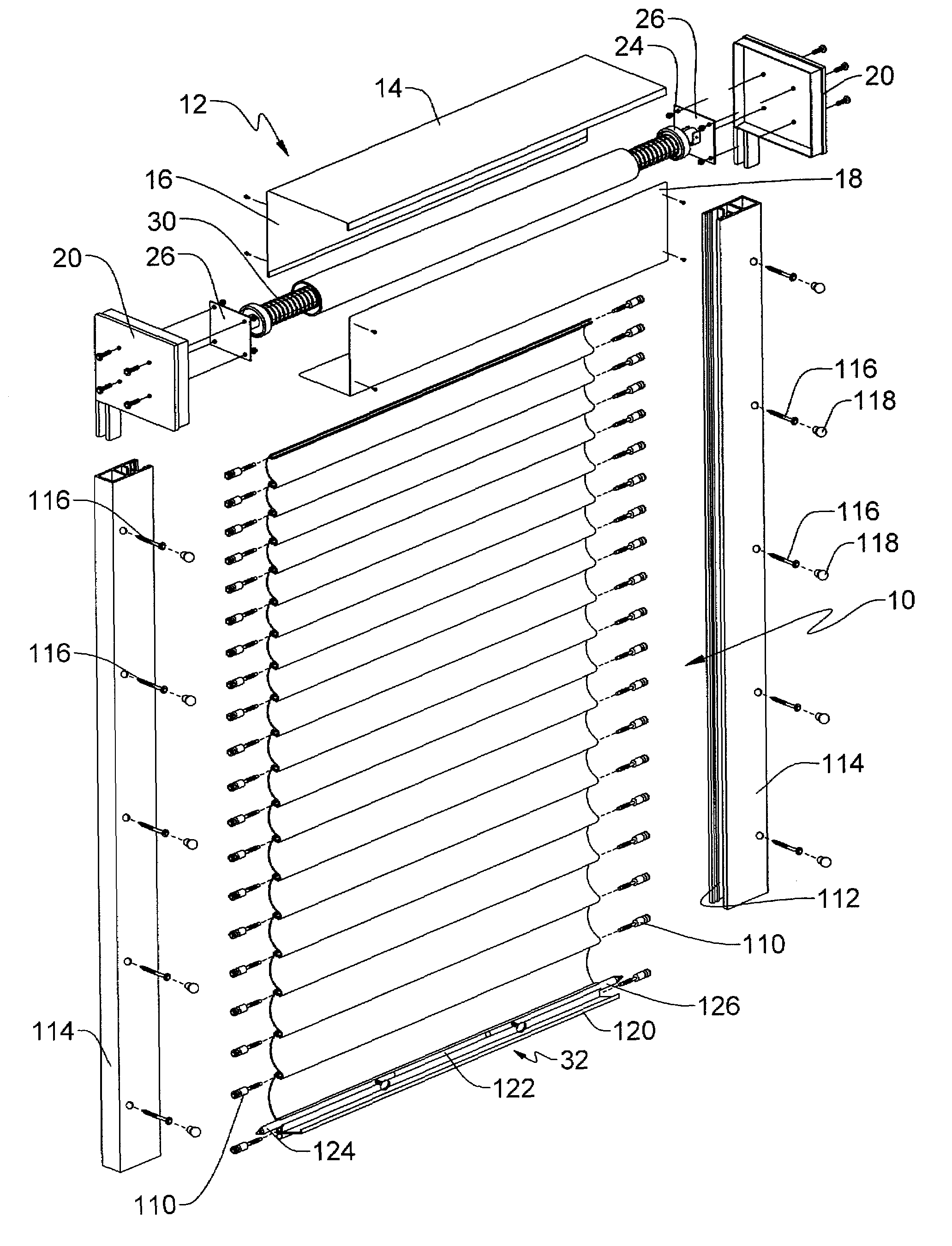 Patent Us7409980 Rolling Shutter Assembly Google Patents