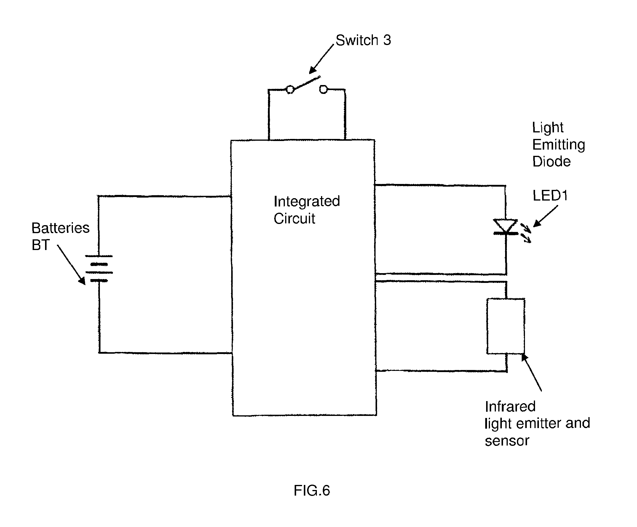 Us7410271 Flashlight With Automatic Light Intensity Led Bulb Google Patente On Wire Battery Circuit Patent Drawing