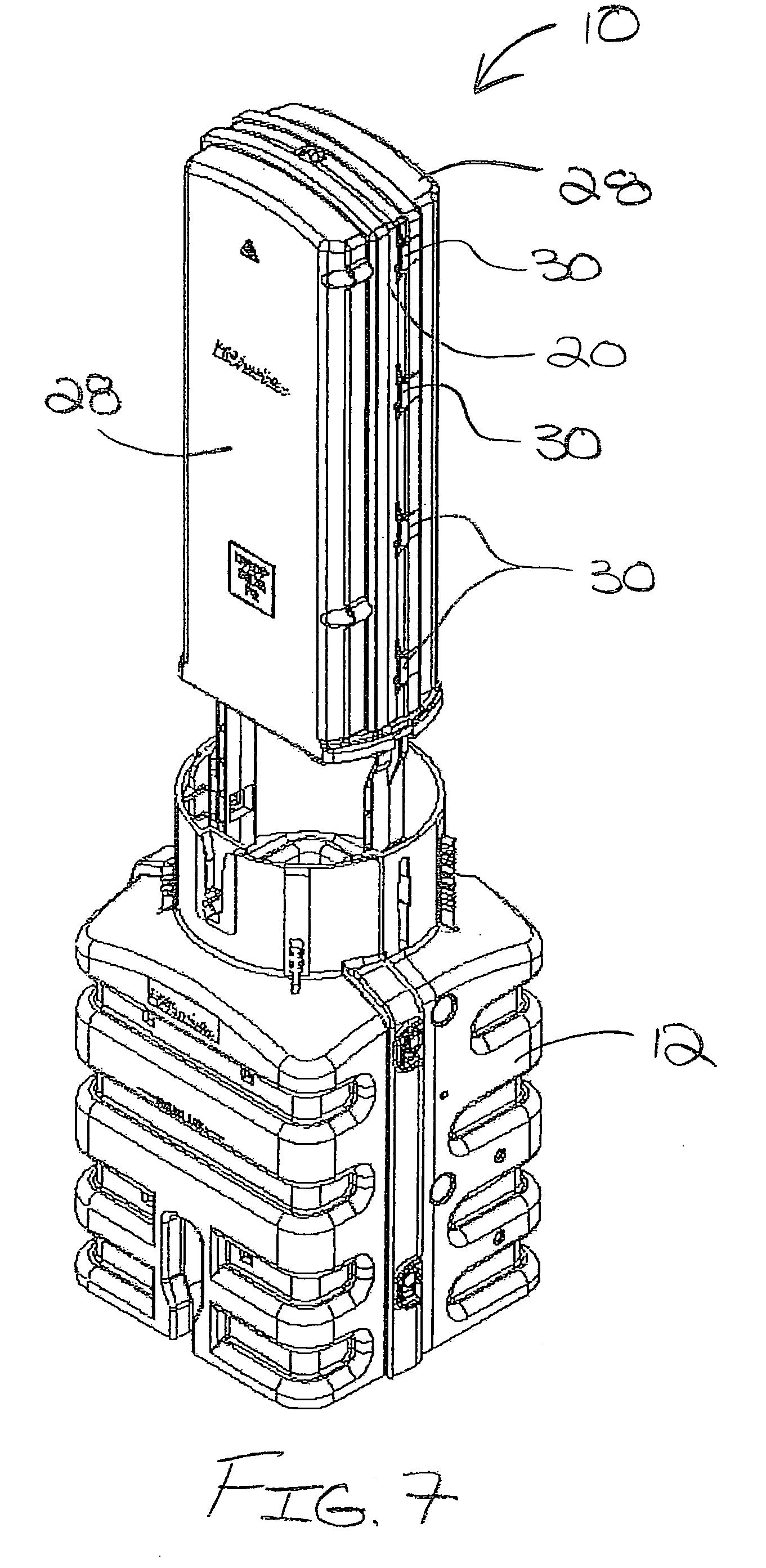 patent us7418183 - fiber optic splice enclosure