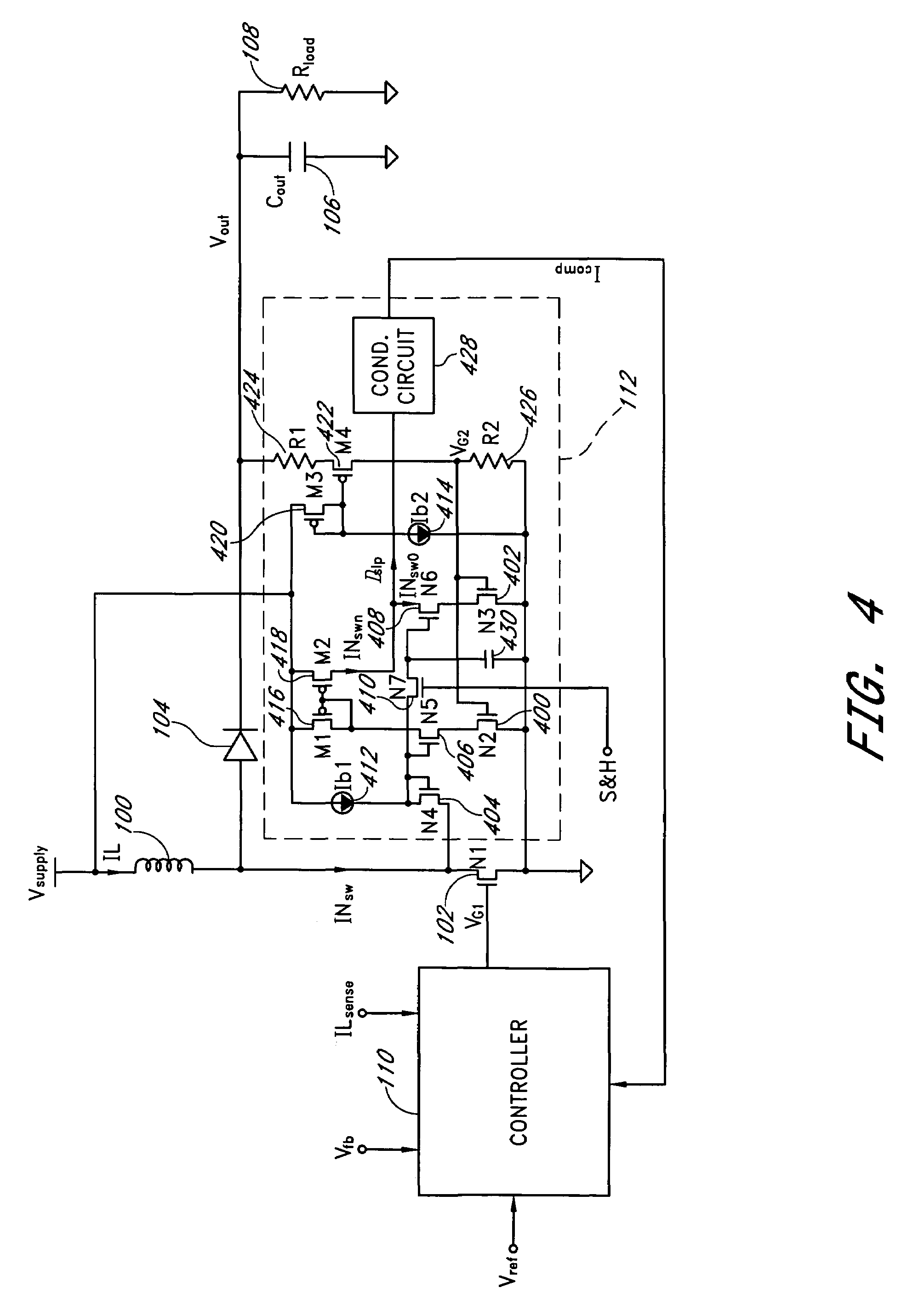 Patent Us7425819 Slope Compensation Circuit Google Patents Led Ramping Drawing