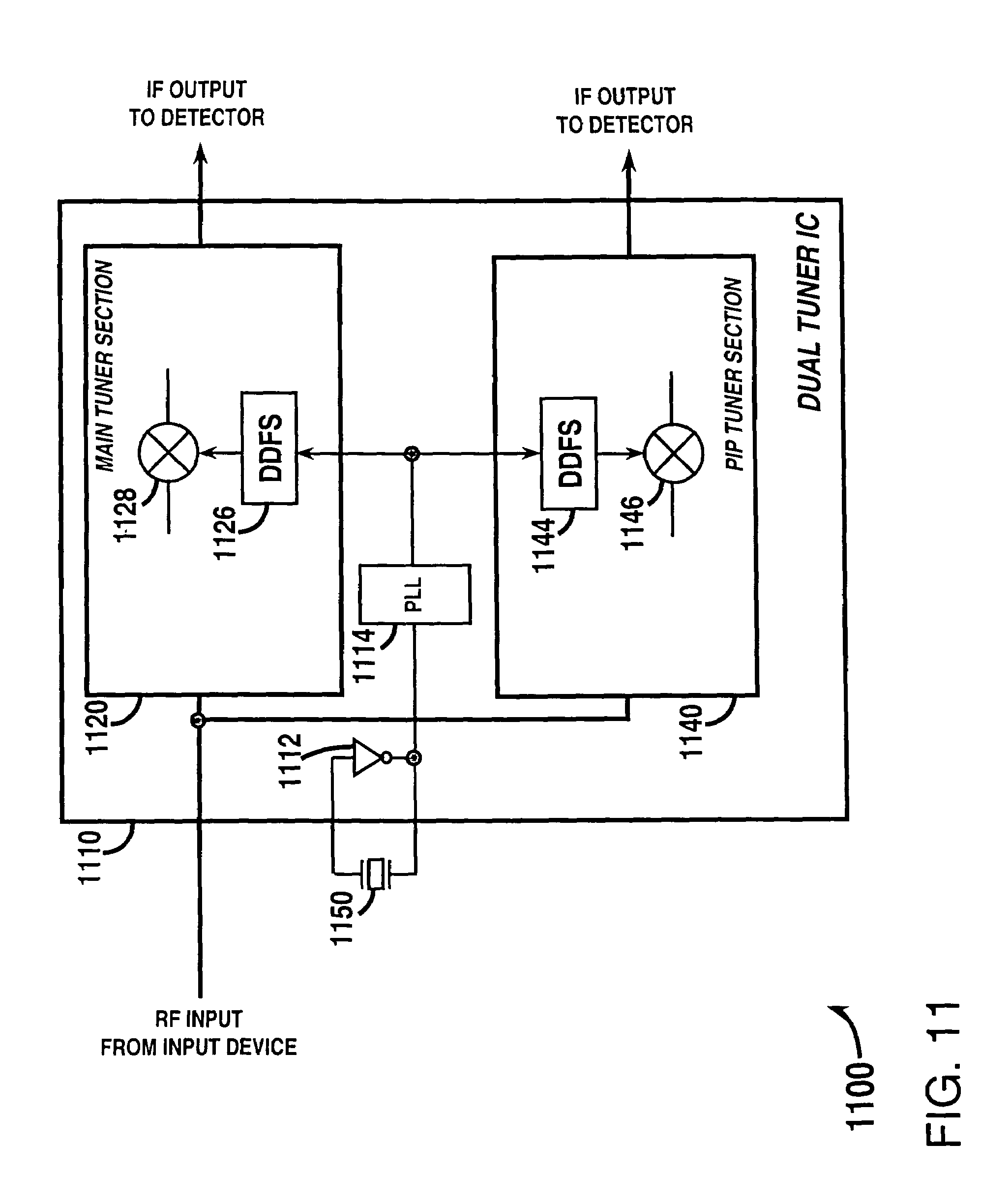 Patent Us7425995 Tuner Using A Direct Digital Frequency Radio Circuit Further Fm Detector Diagram Likewise Low Power Drawing