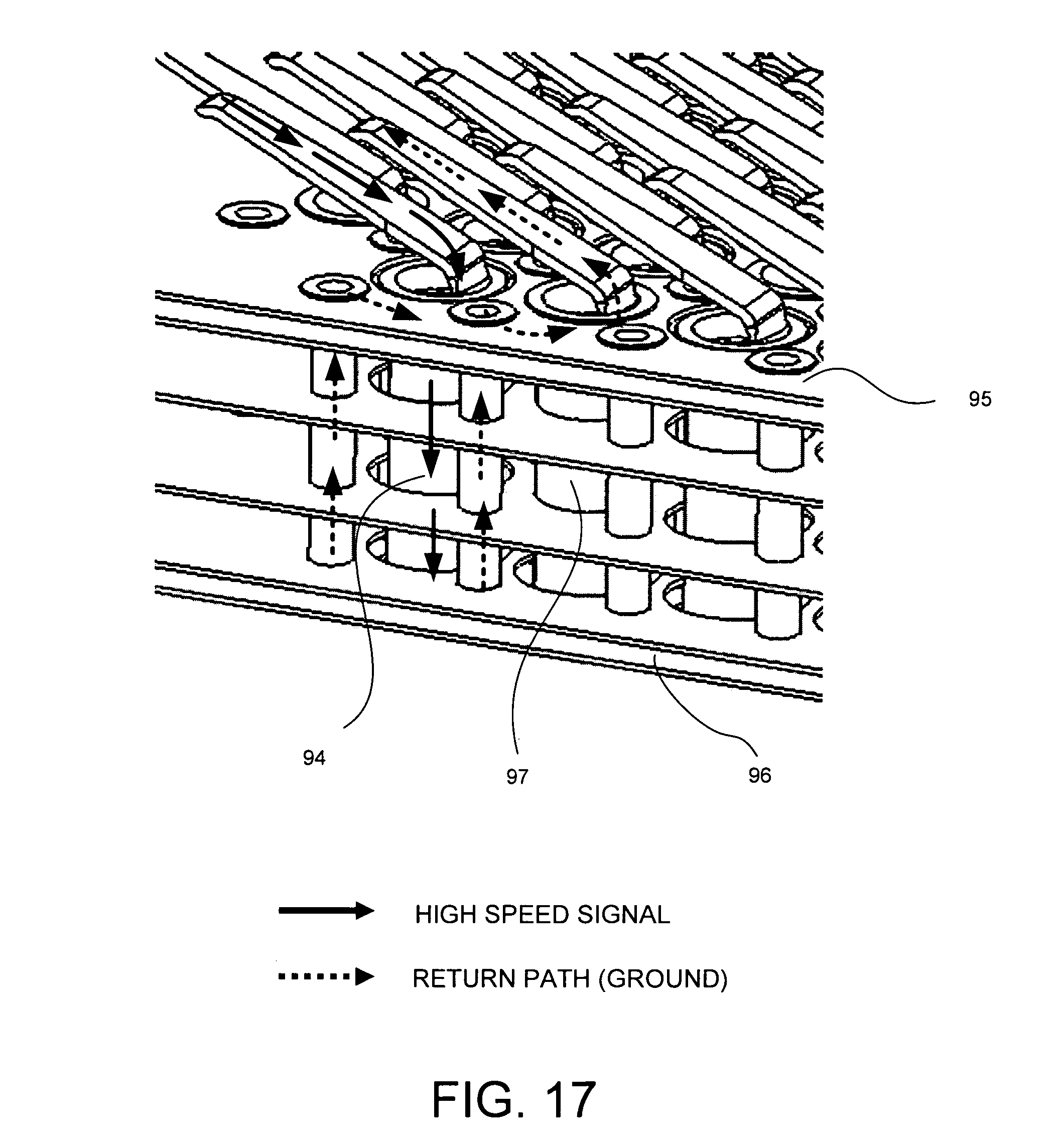 patent us7438581 - socket having printed circuit board body portion