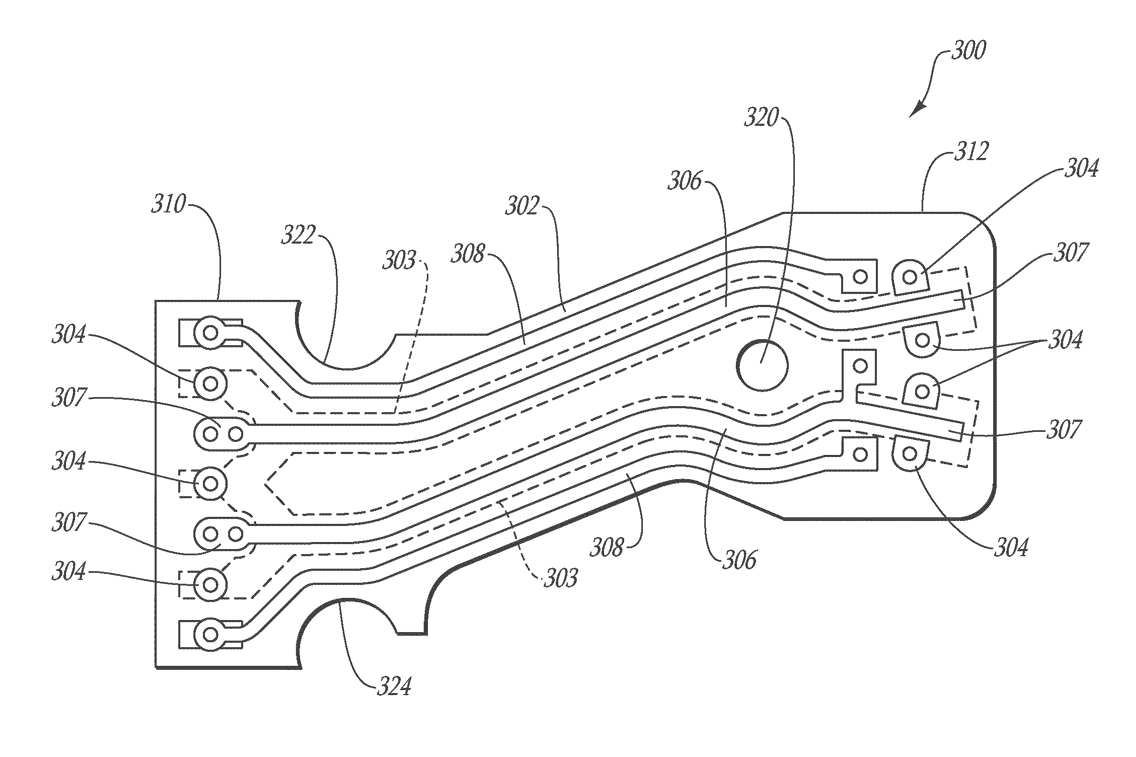 Patent Us7439449 Flexible Circuit For Establishing Electrical Boxer Engine Diagram Drawing