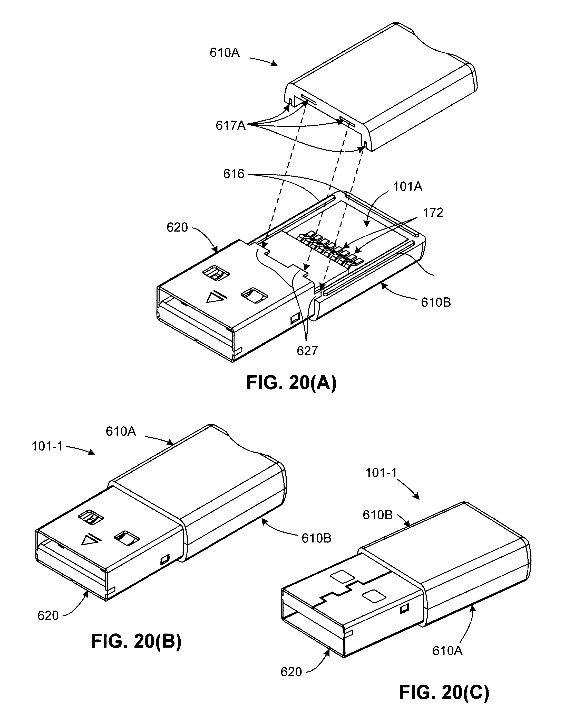 patent us7440286 - extended usb dual-personality card reader