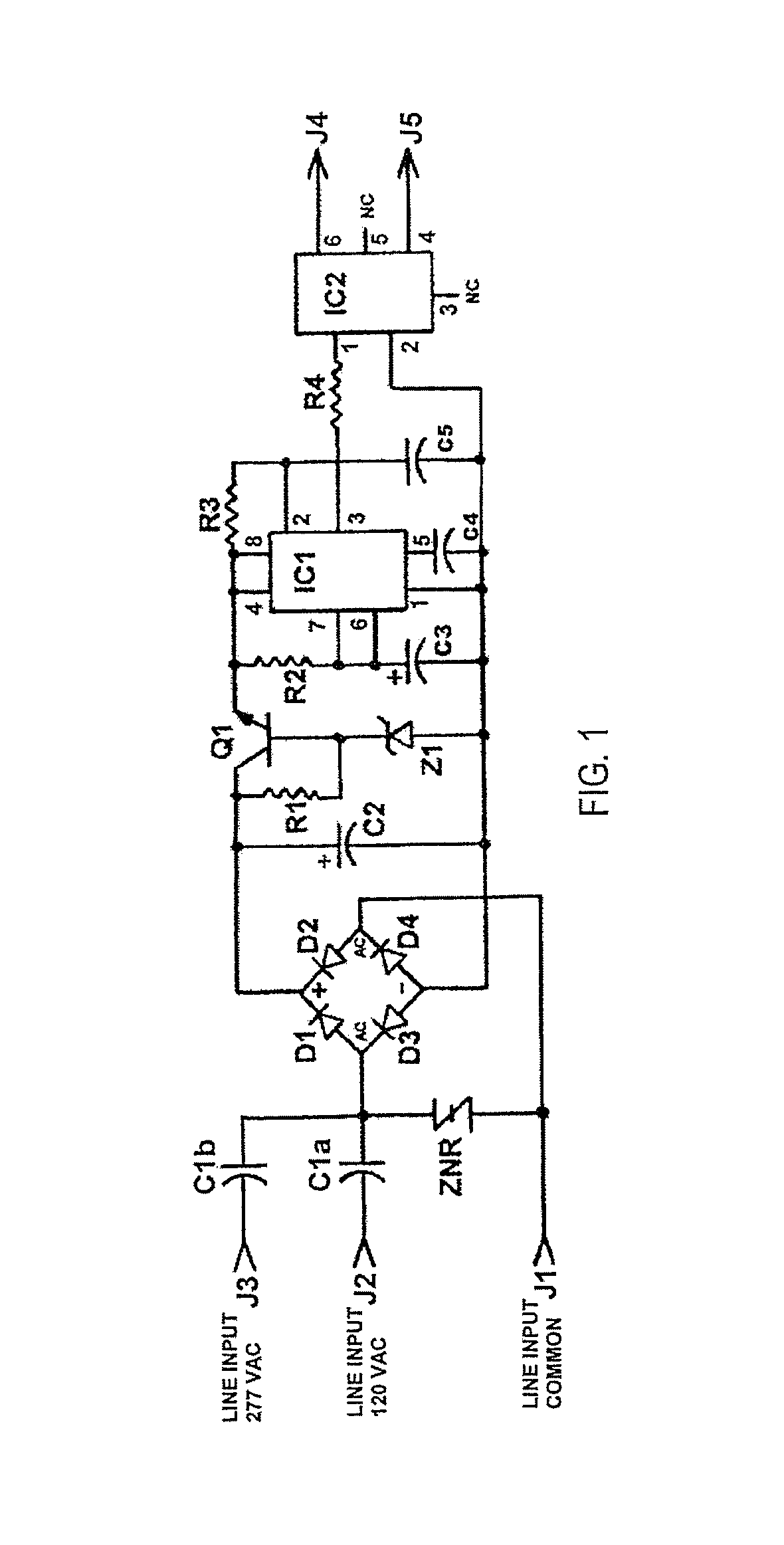 patent us7449840 - ignitor turn-off switch for hid ballasts