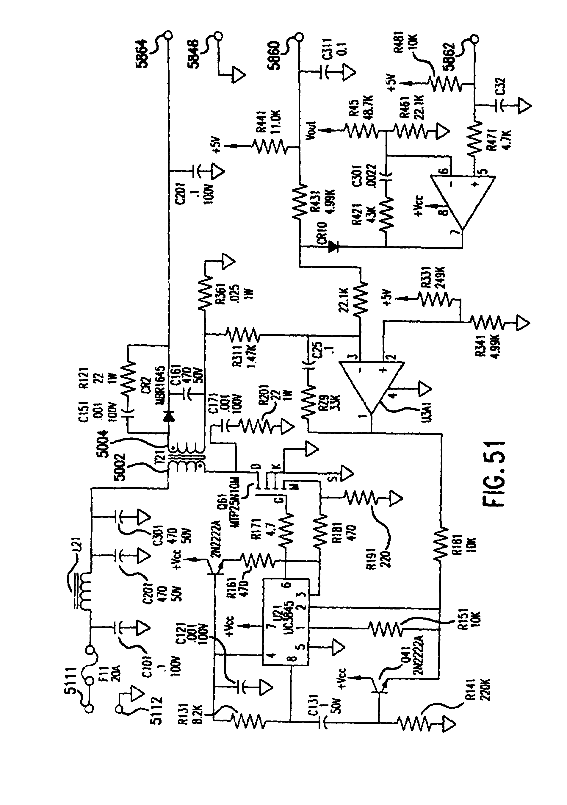 patent us7450403 switching power supply utilizing switch Honeywell Thermostat Wiring Heat Pump patent drawing