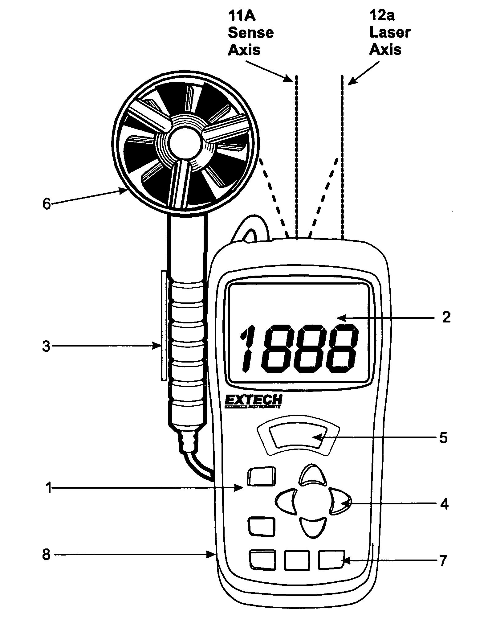 digital anemometer schematics