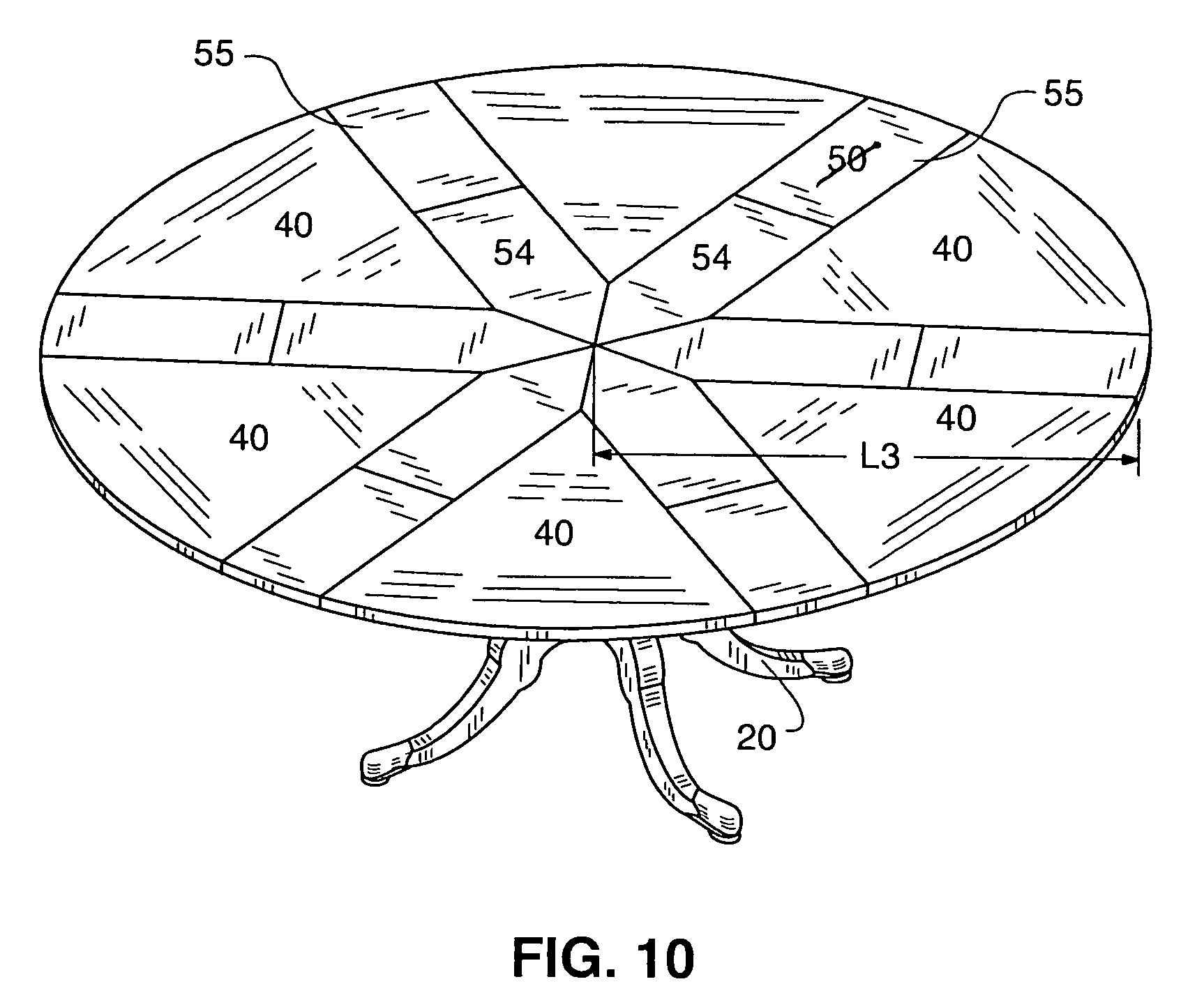 Patent Us7464653 Expansible Table Google Patents