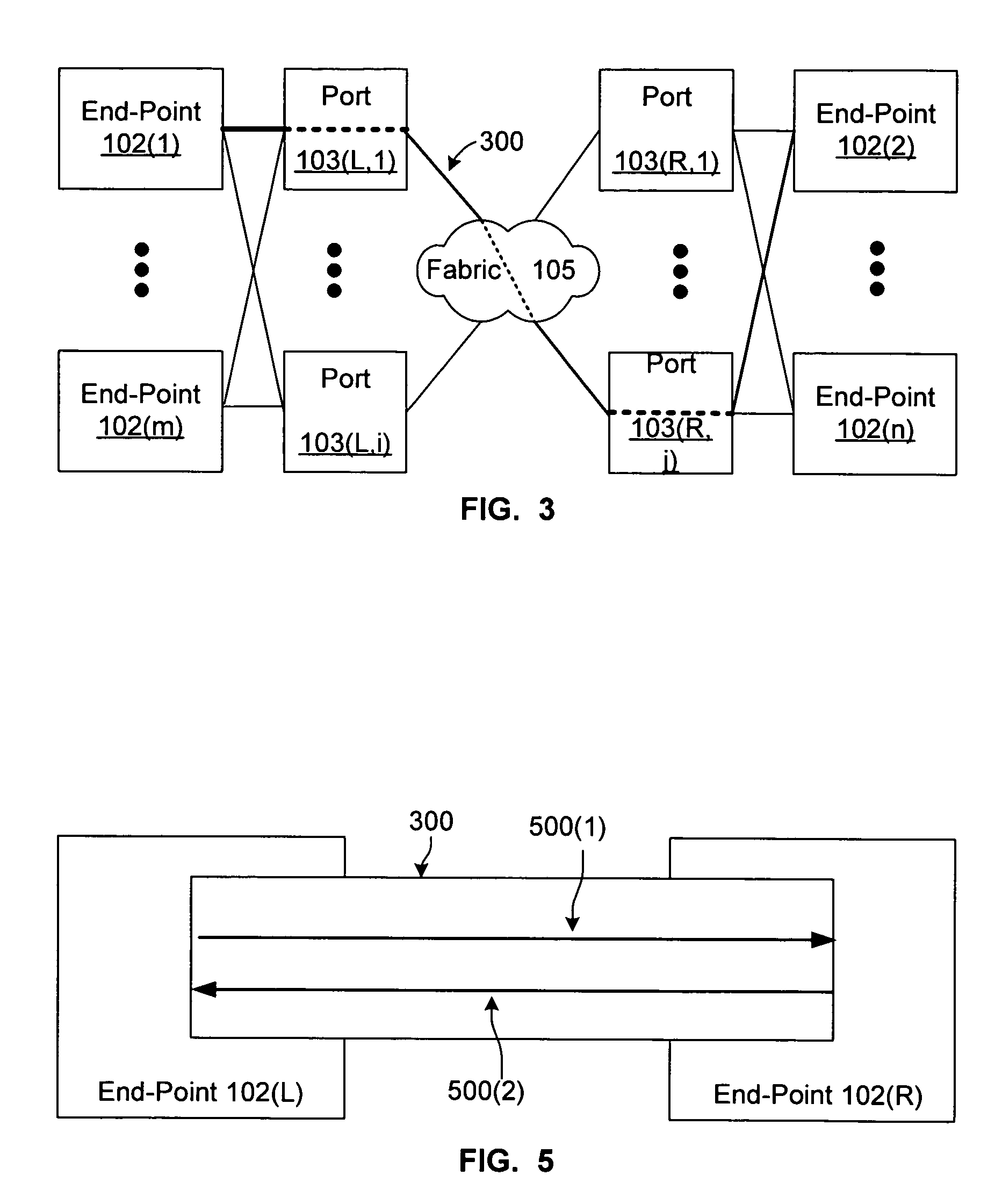 Patent US7466699 - System for communicating between network end ...
