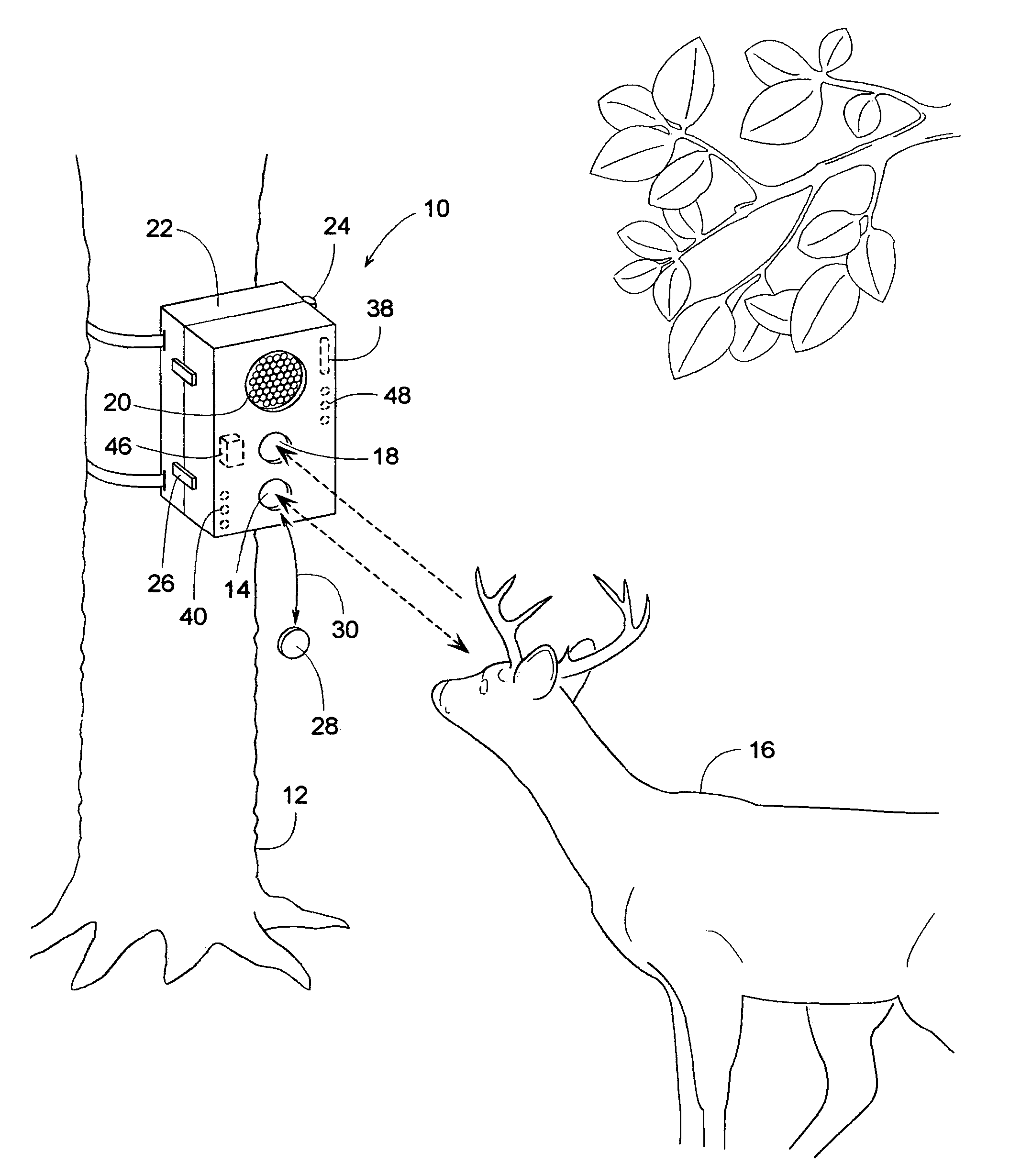 patent us7471334 wildlife sensing digital camera with instant on Problems with Wildgame Innovations Camera patent drawing