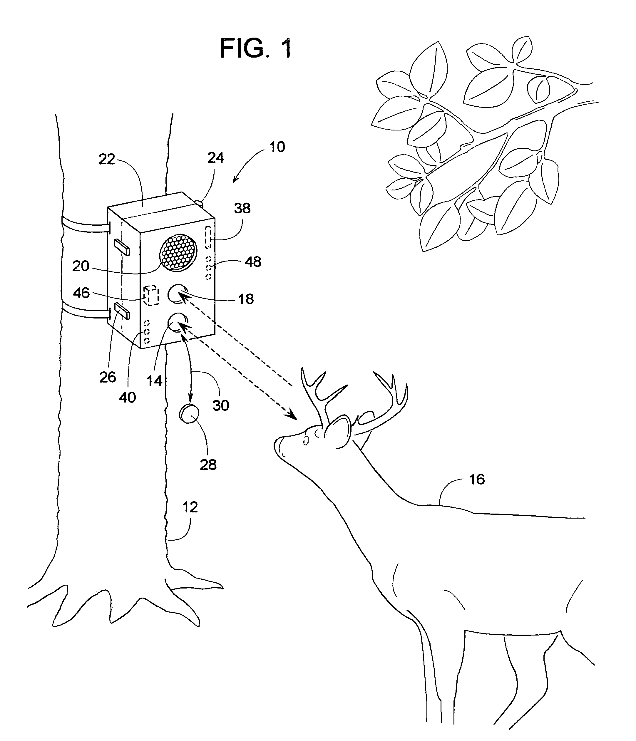 patent us7471334 wildlife sensing digital camera with instant on Wildgame Innovations Blade X7 patent drawing