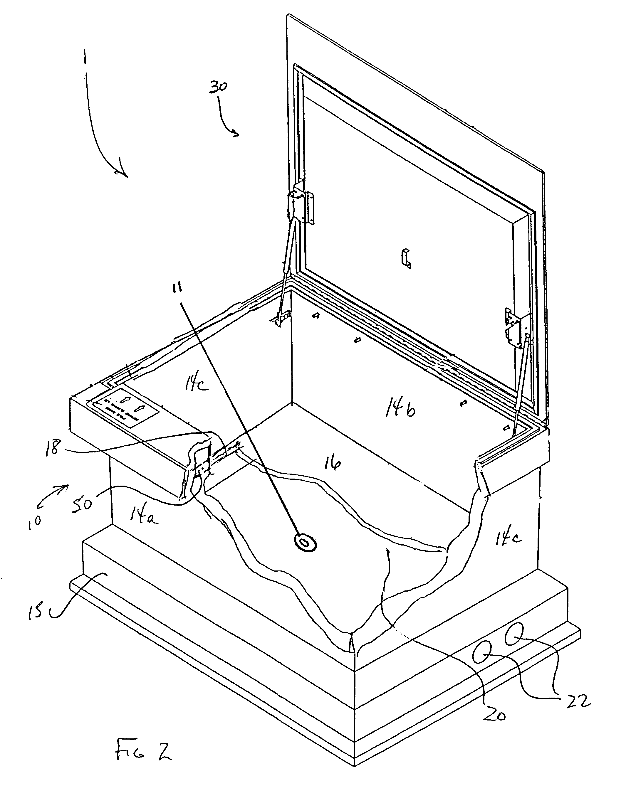 patent us7475515 - flush to grade utilities vault