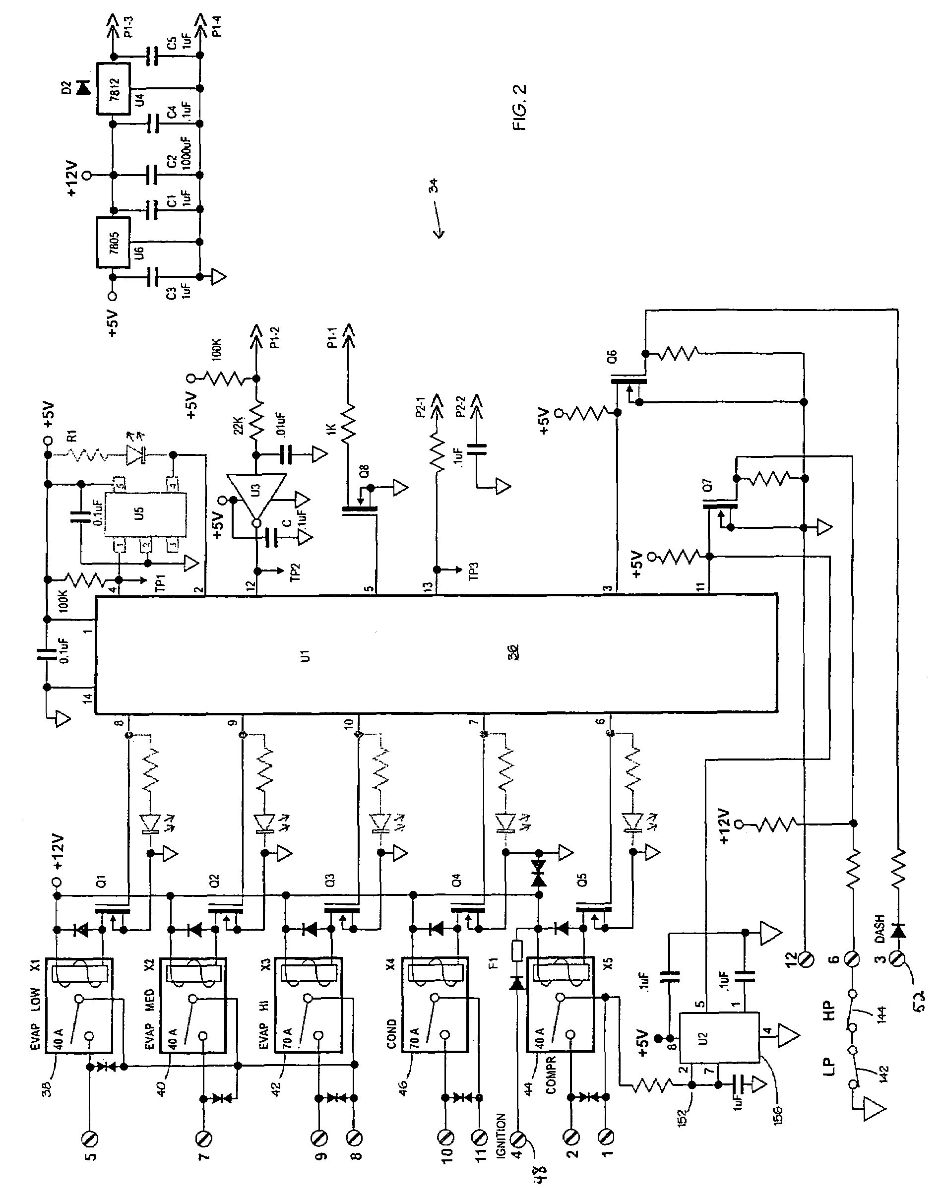 Carrier Bus Air Conditioning Wiring Diagram 43 Circuit Board Schematics Further Electrical Drawing Literature U003e Diagrams Source Patent Us7475559 Electronic Vehicle Climate Control System With